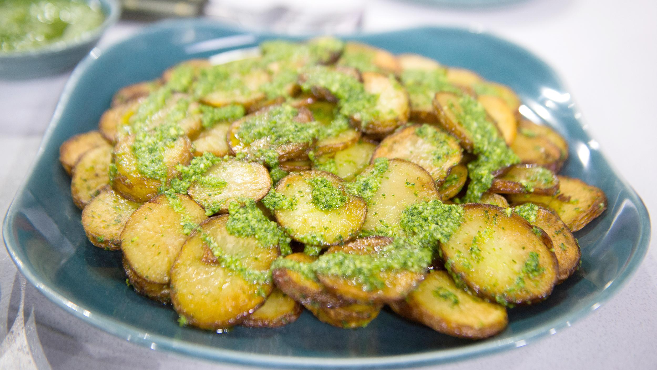 bobby flay green onion potato salad