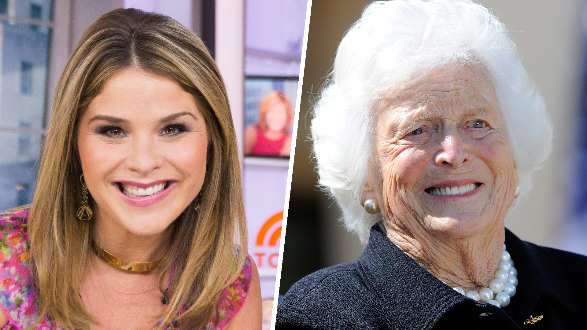 Jenna Bush Hager Reveals Grandmother Barbara Bush Has Only 4 T110234 C...