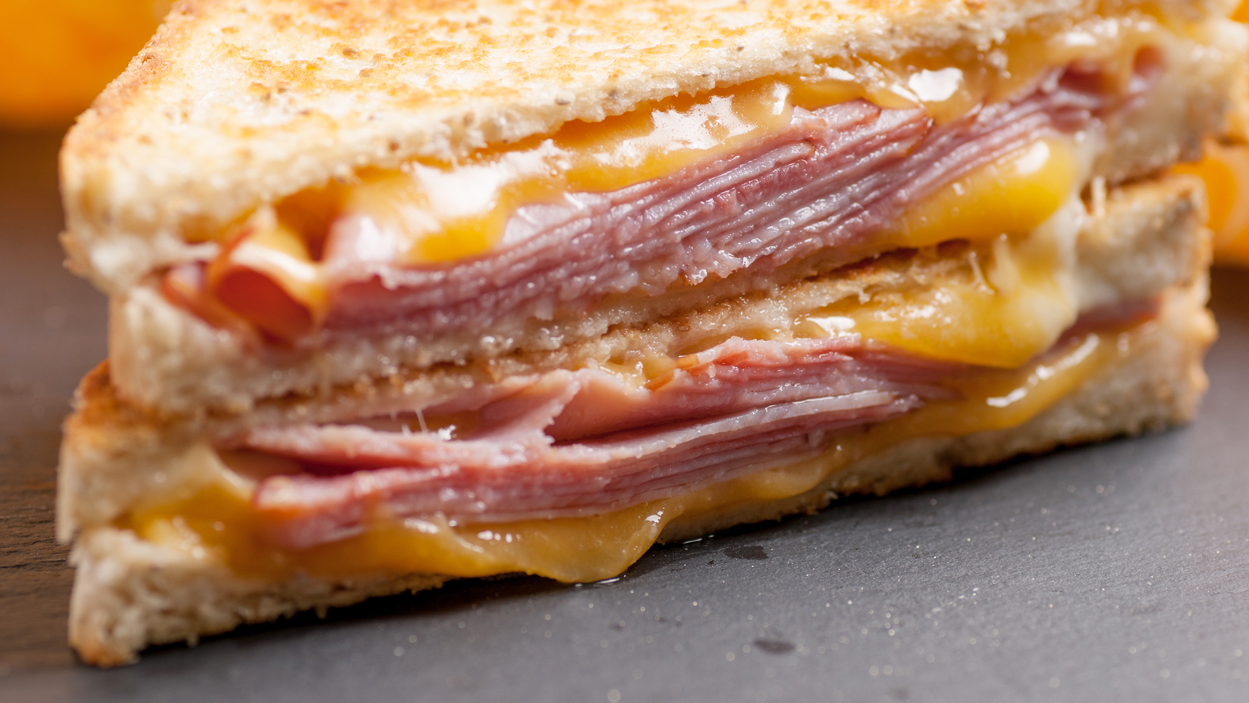 Jeff Mauro's Perfect Grilled Cheese with Ham - TODAY.com