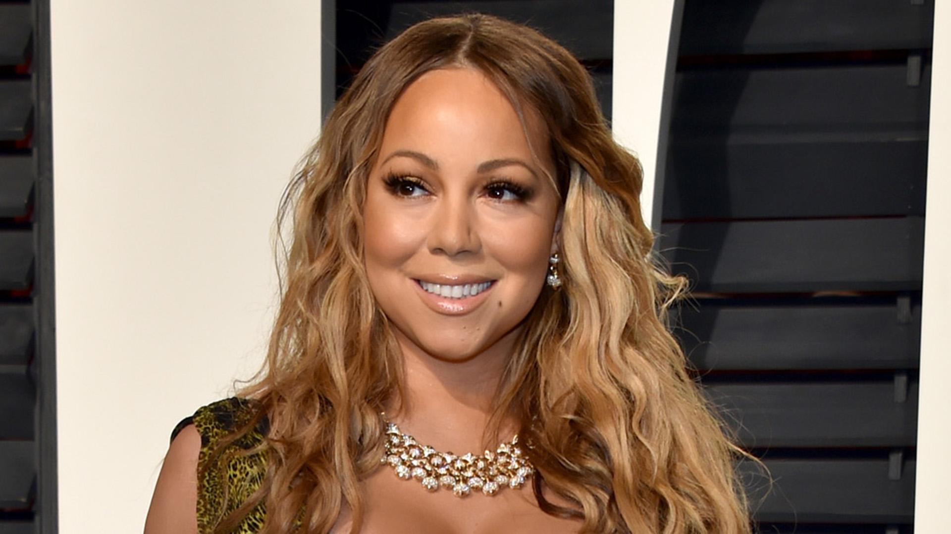 Mariah Carey shares pr... Mariah Carey