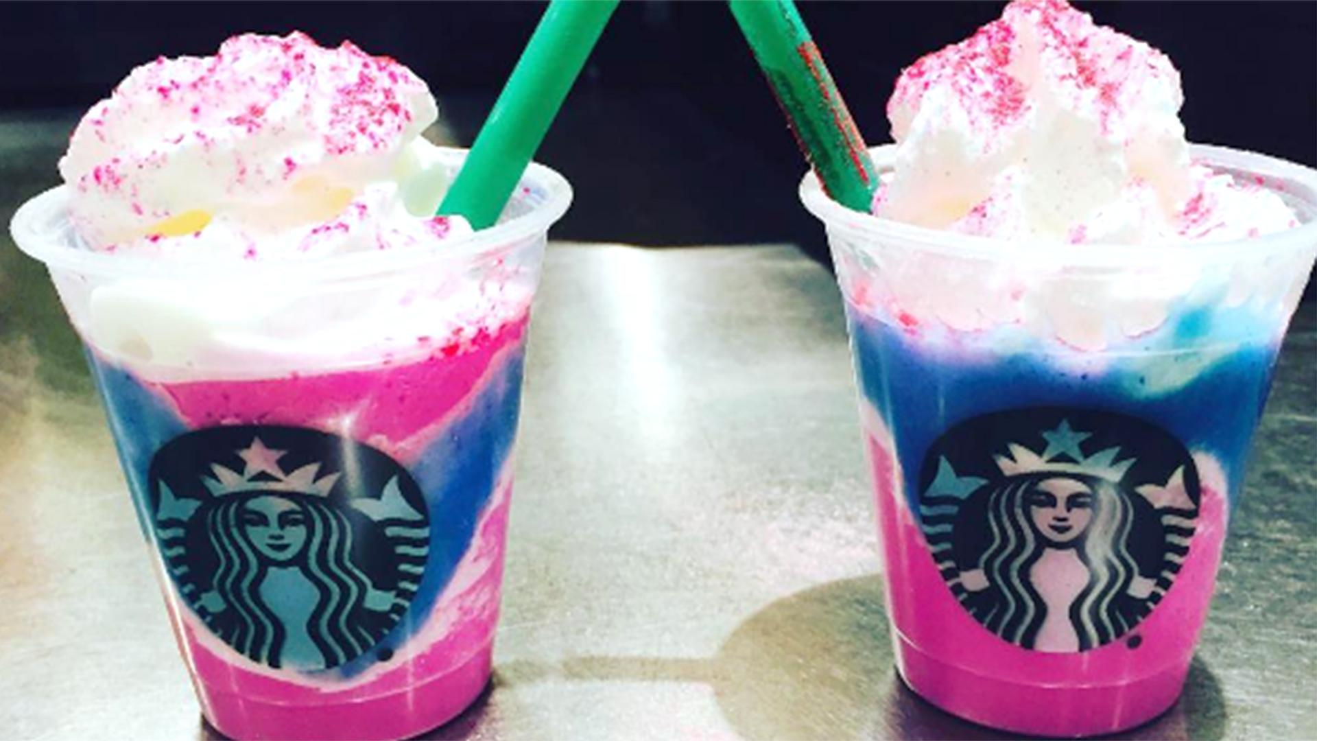 Starbucks Baristas Dont Order The Unicorn Frappuccino