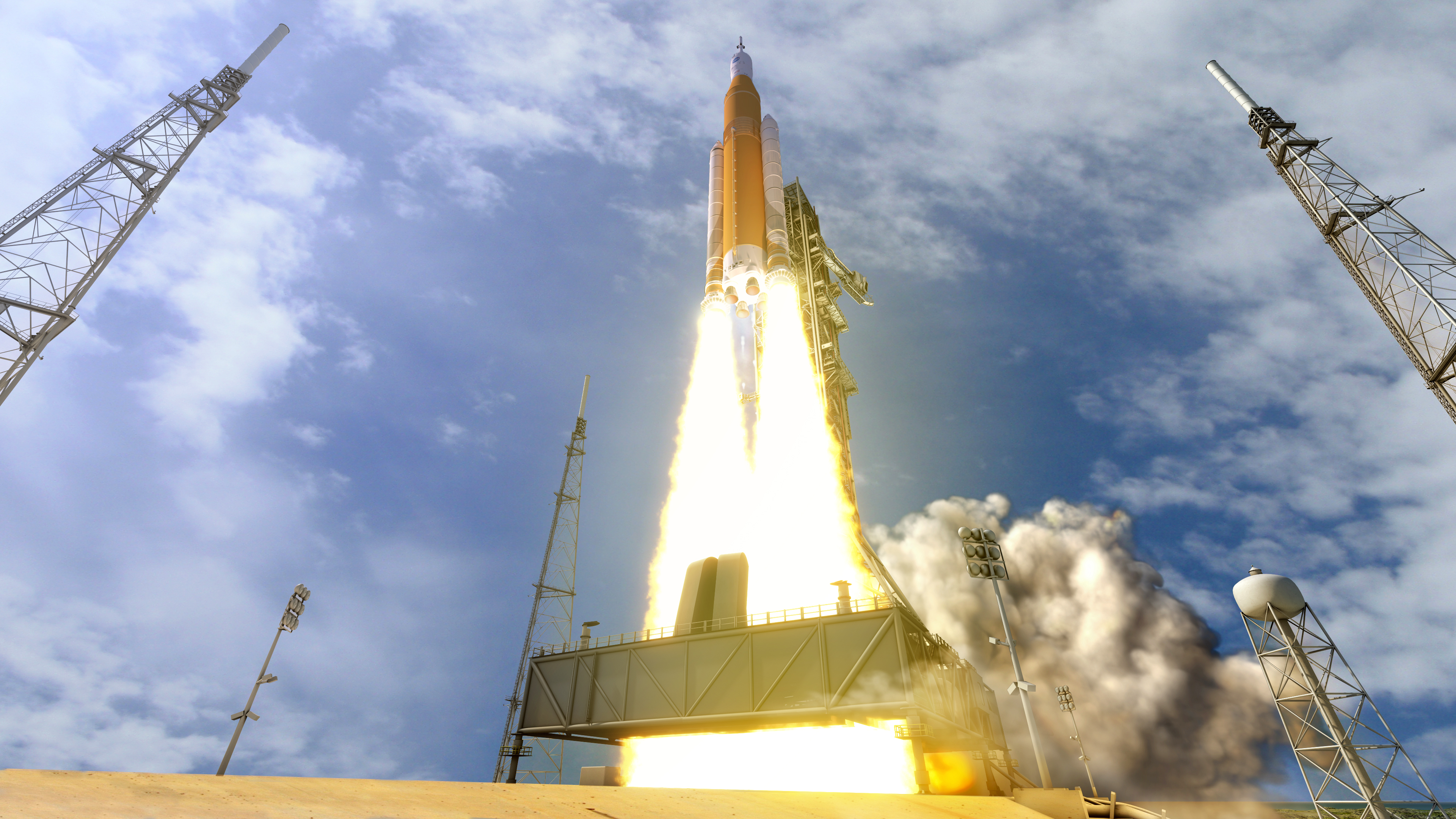 Watch NASA Rocket Launch In Live 360 Video For The First