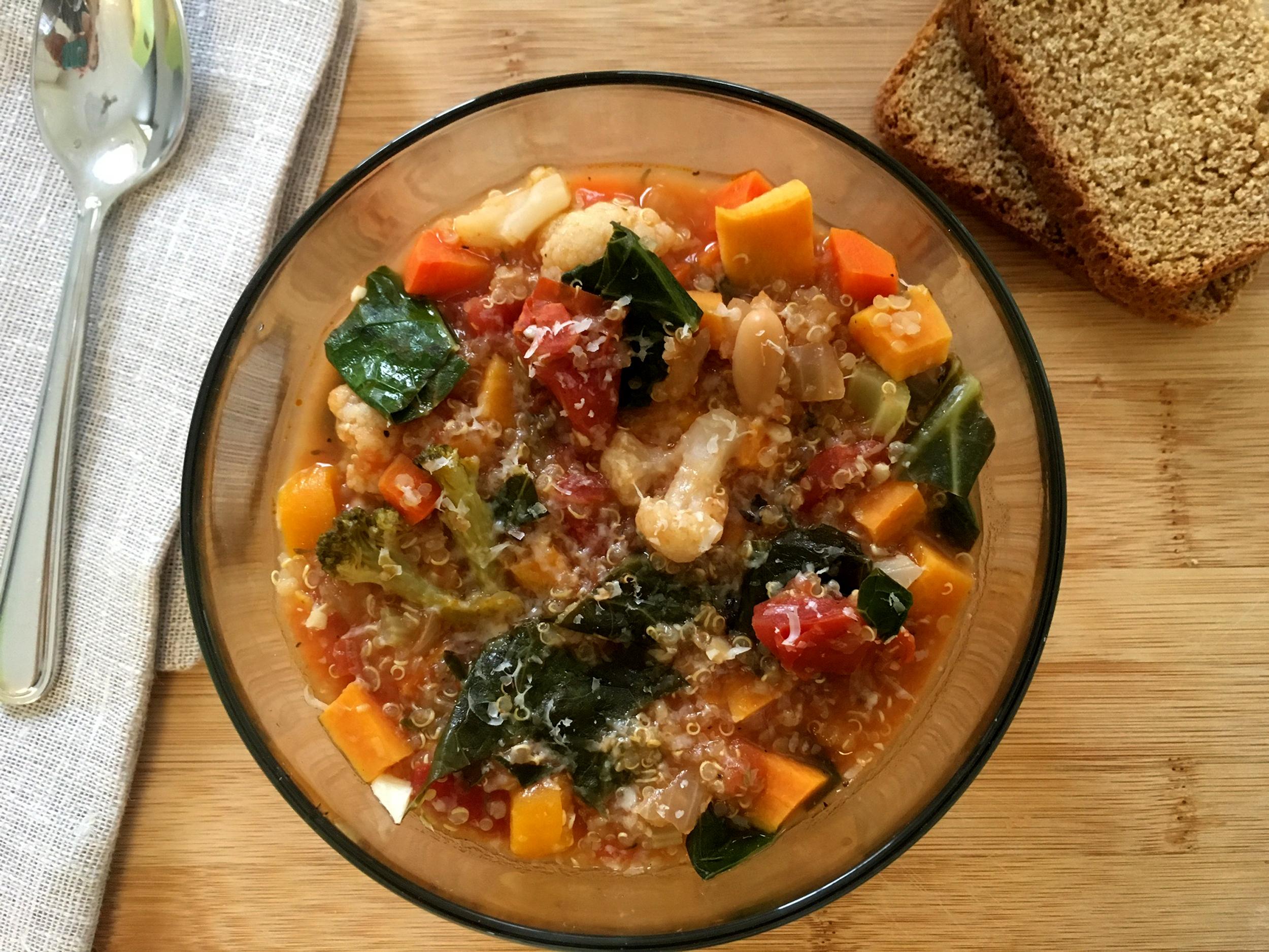 Image: Vegetable-Quinoa Soup