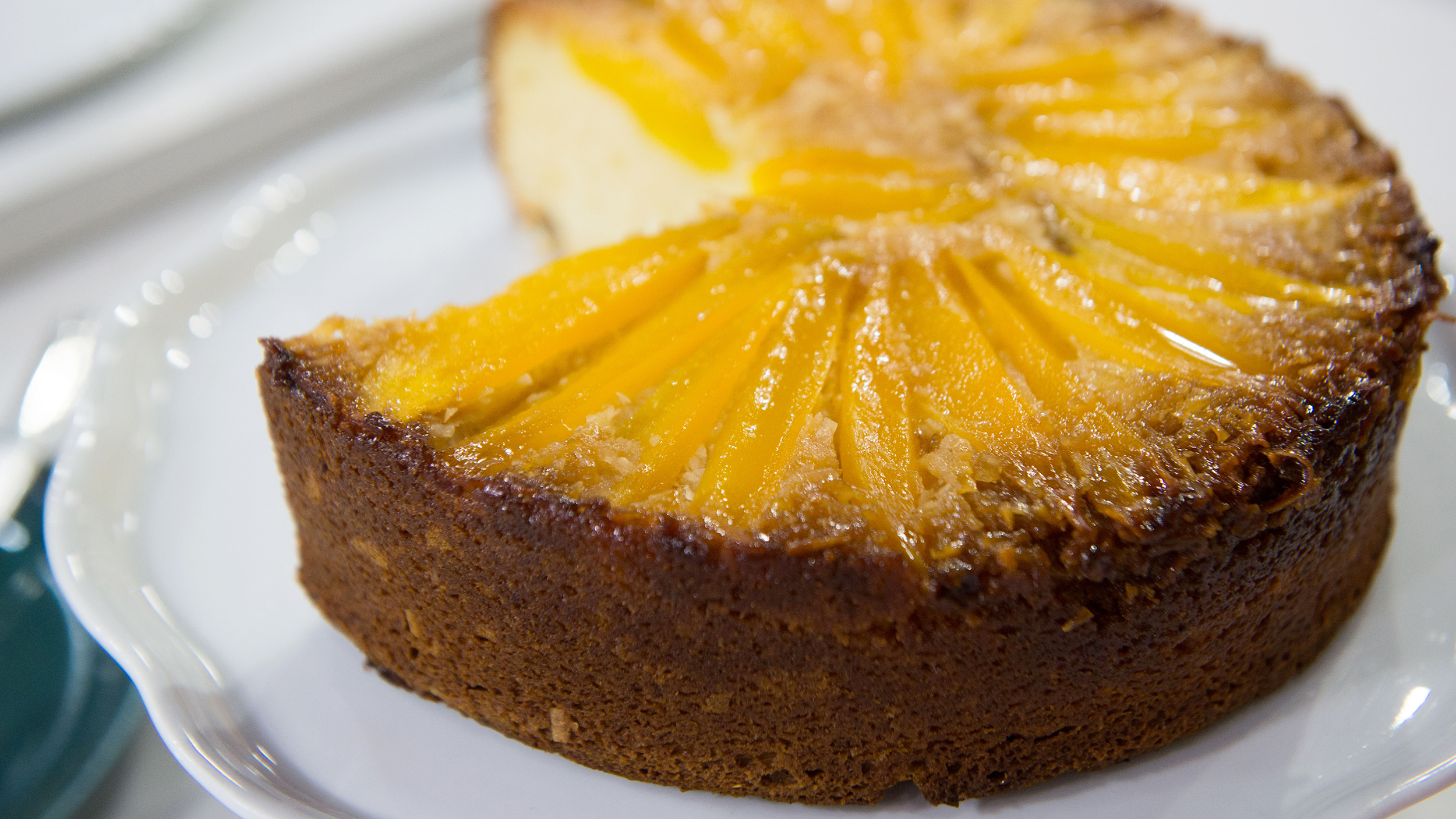 Images For Mango Cake : Mango Upside-Down Cake - TODAY.com