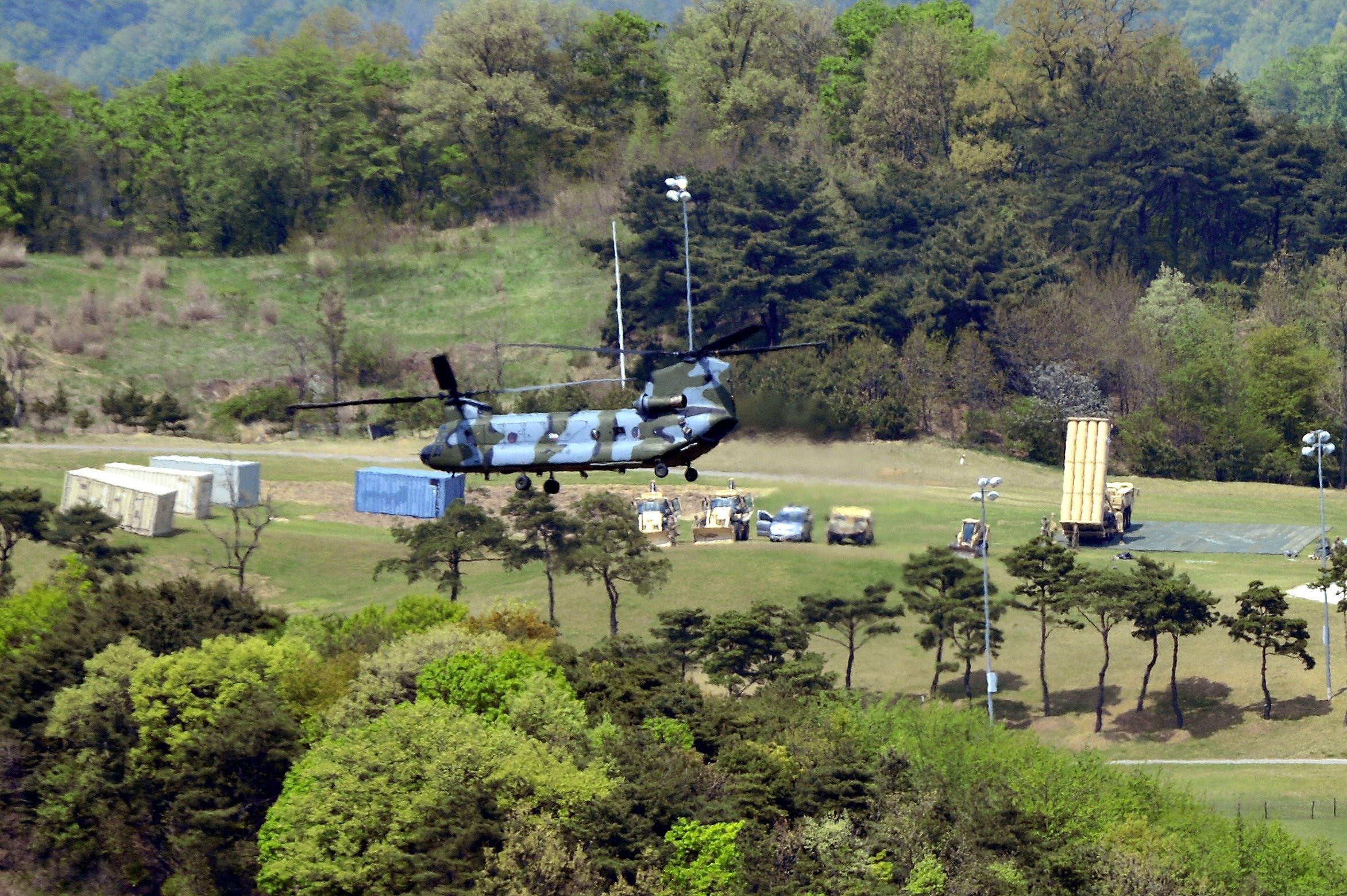 Nat'l Security Chief Tells S. Korea U.S. to Pay for Antimissile System: Official