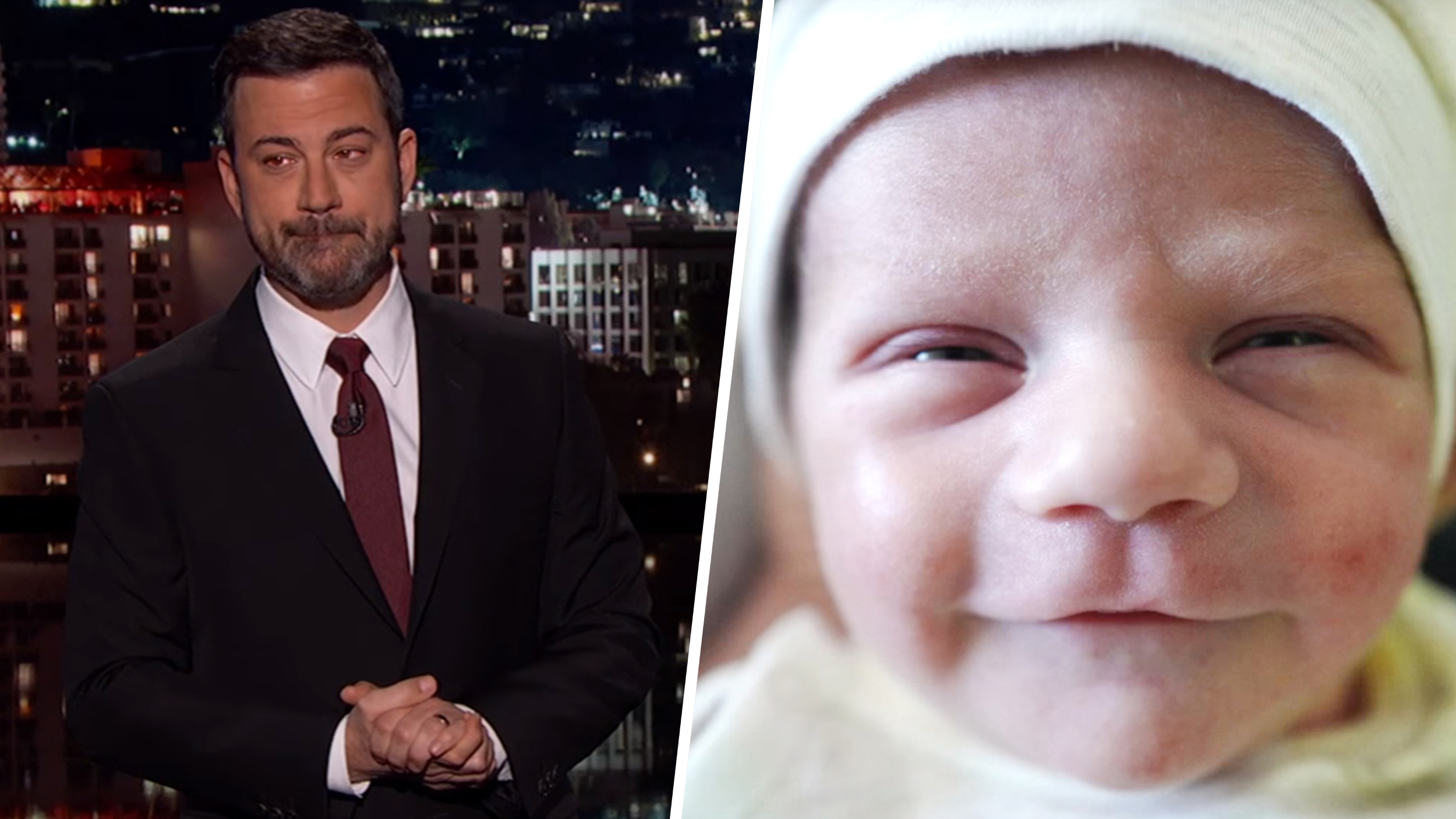 Jimmy kimmel son and daughter