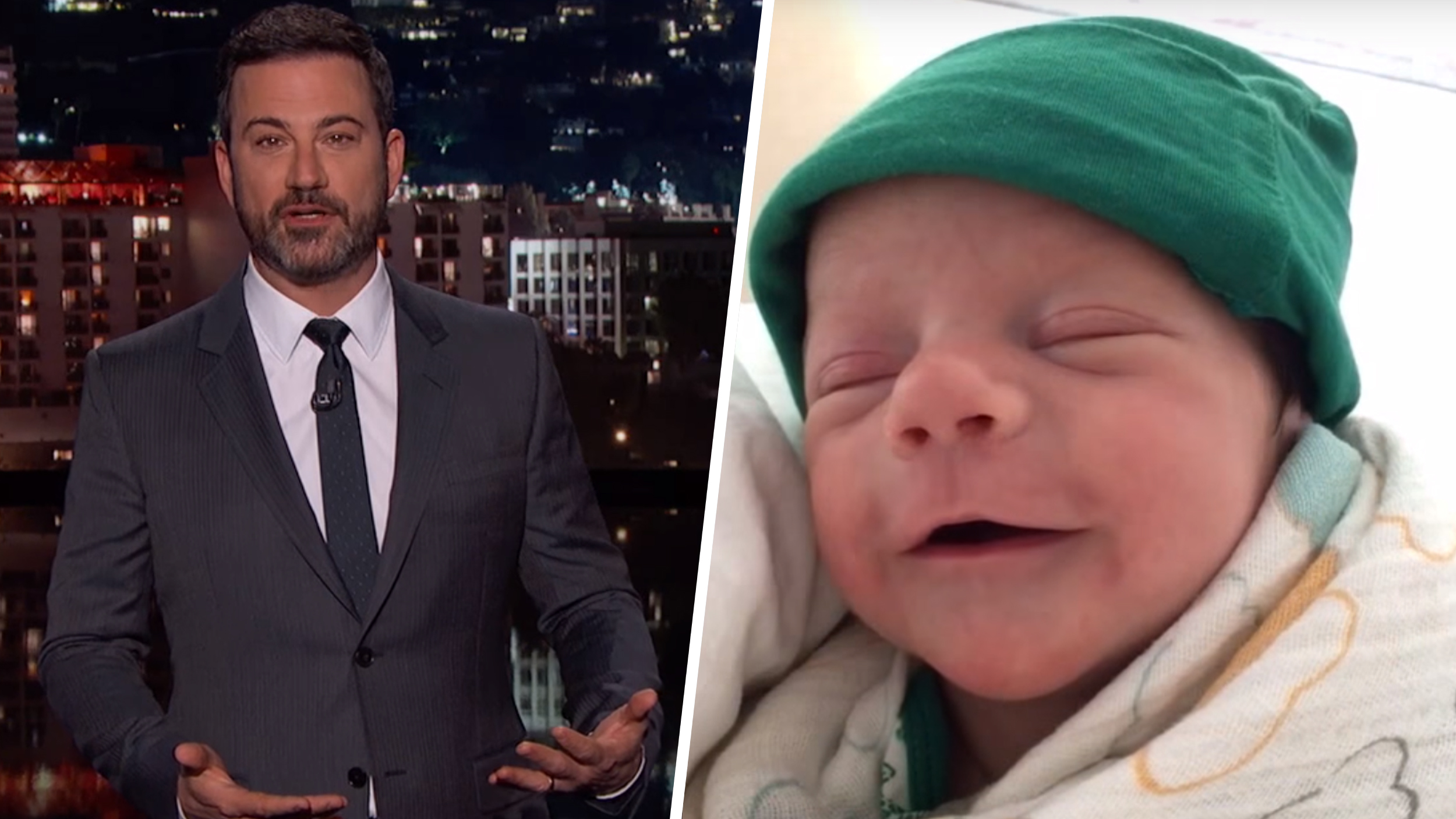 Jimmy Kimmel Returns To TV With A Health Update On Baby ...