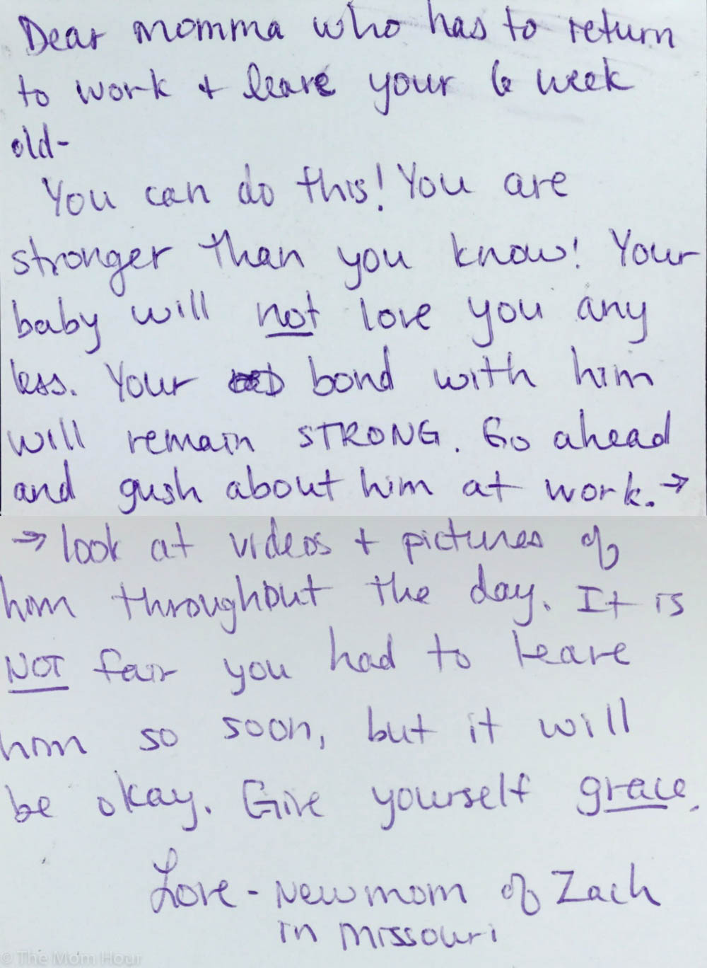 These handwritten Mother's Day letters prove moms have each