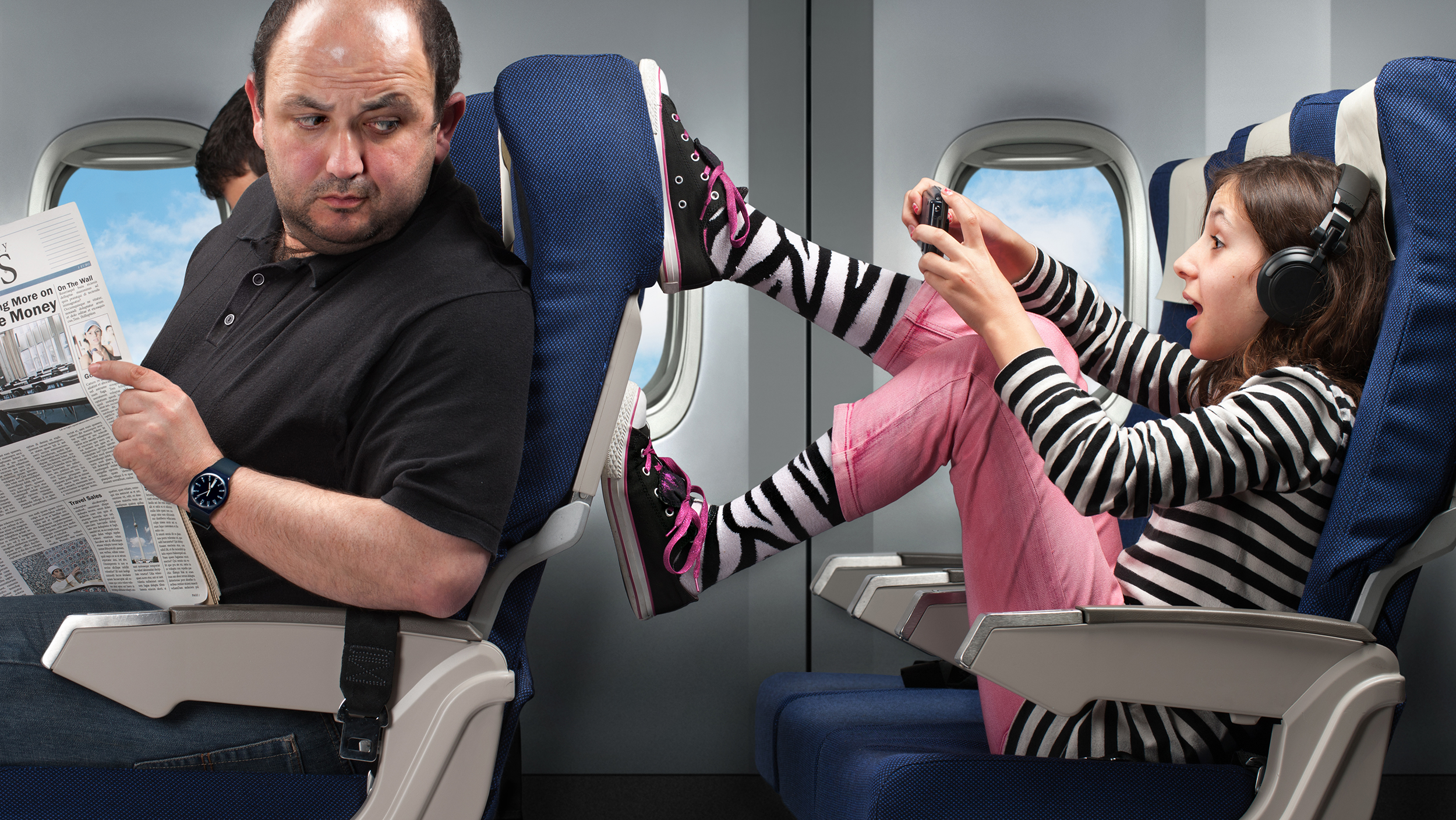 Airplane Etiquette How To Handle Seat Kicking Drunk