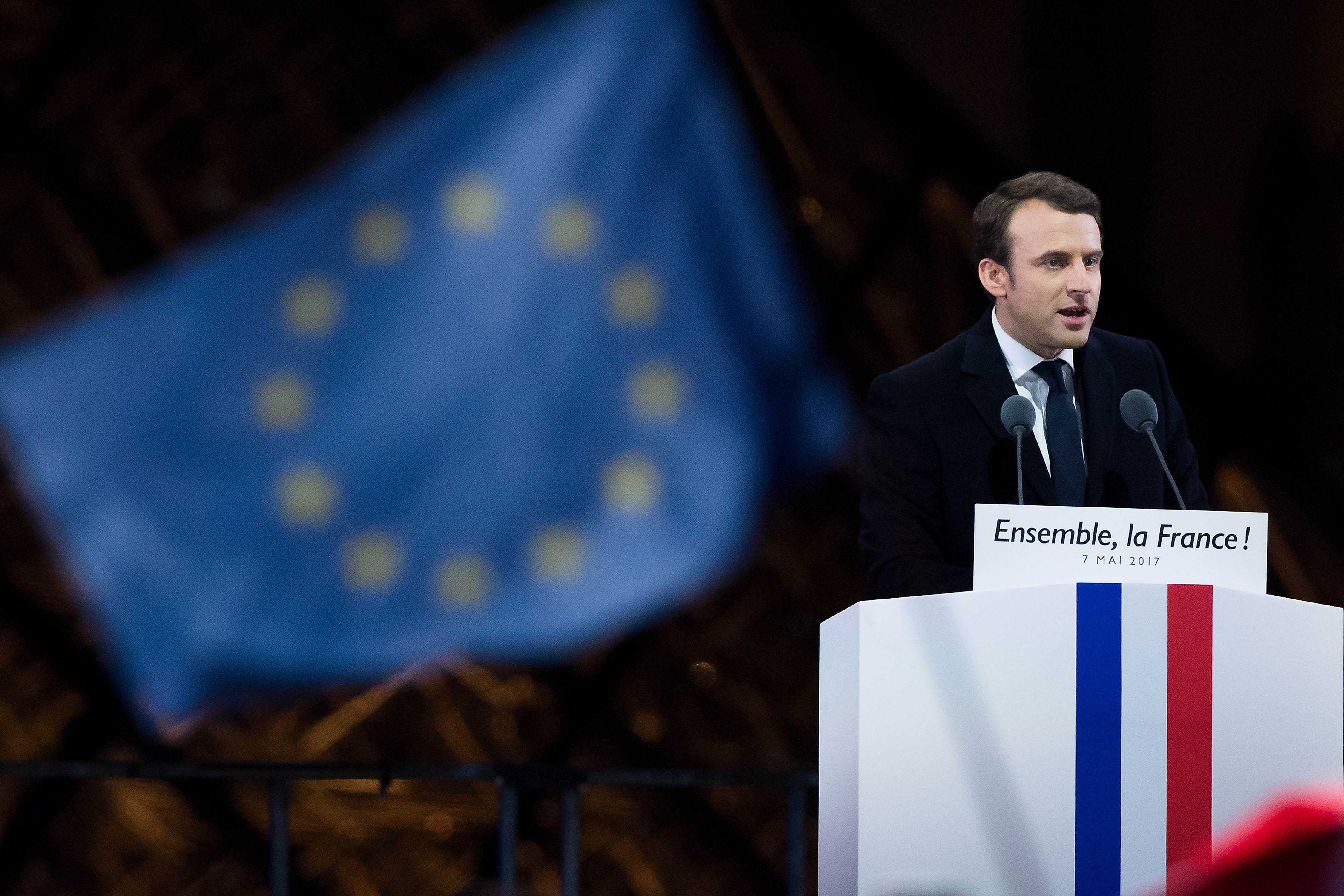 Emmanuel Macron French Knight Who Overturned Decades Old Party Politics