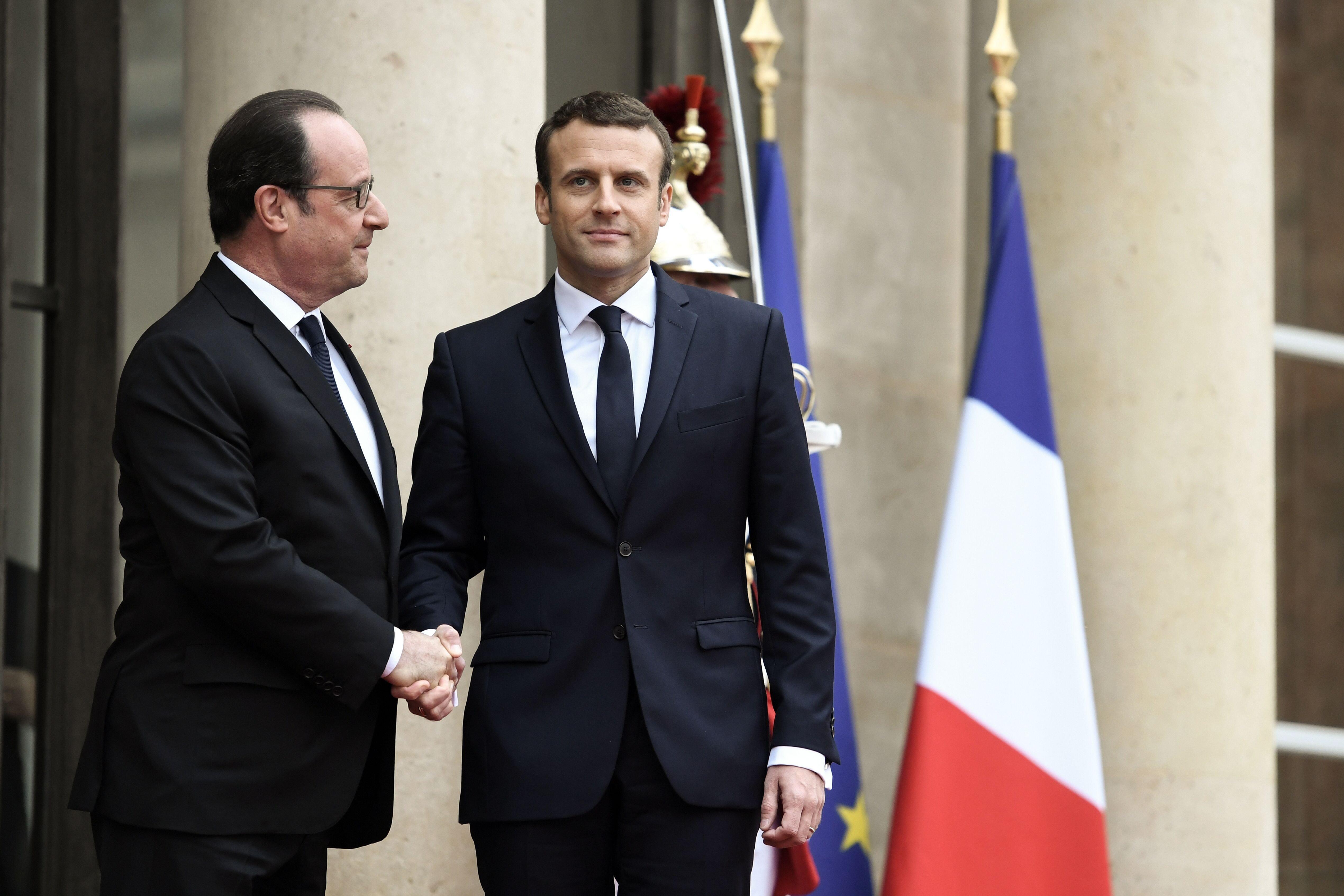 Emmanuel Macron Pledges To Unite France As He Is Sworn In As President