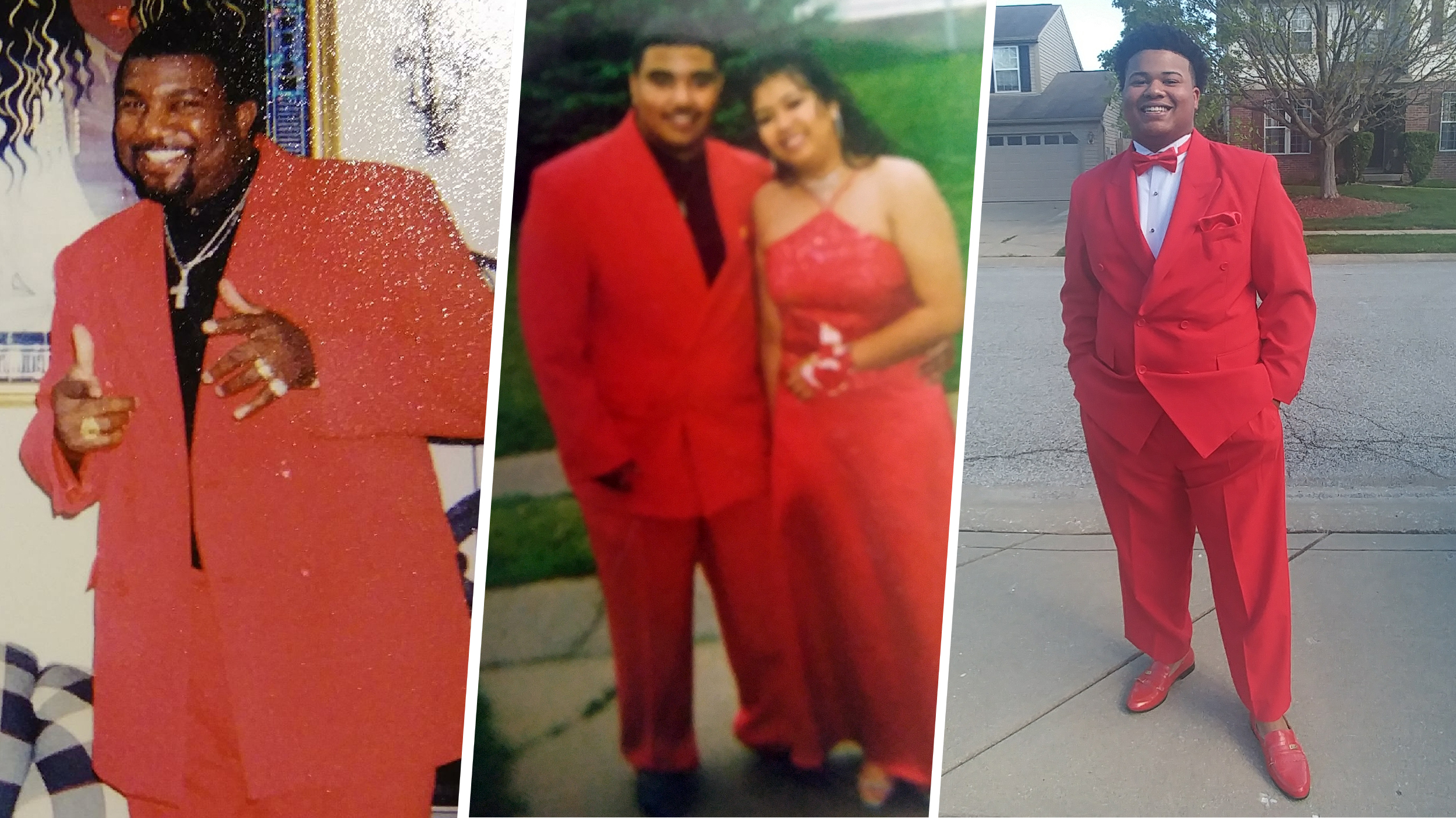 Jonathan Jessie is third generation in his family to wear bright red ...
