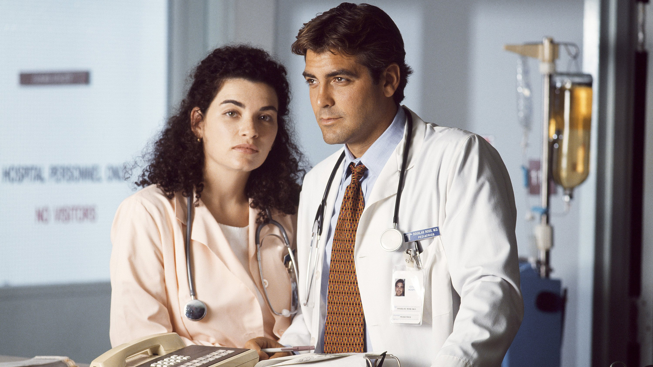 Image result for er george clooney and julianna margulies