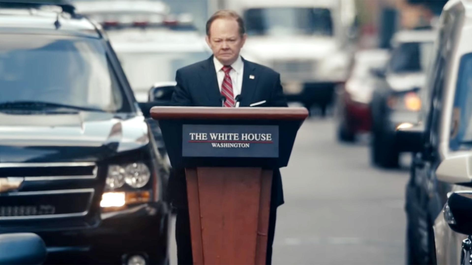 csipke fel új dizájn olcsó eladás Melissa McCarthy's 'SNL' outtakes as Sean Spicer in New York