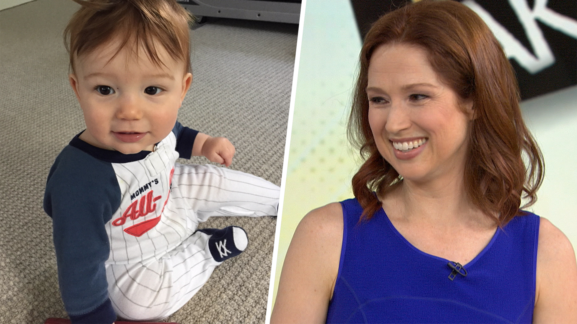 Ellie Kemper shares first photo of her baby boy on TODAY ...