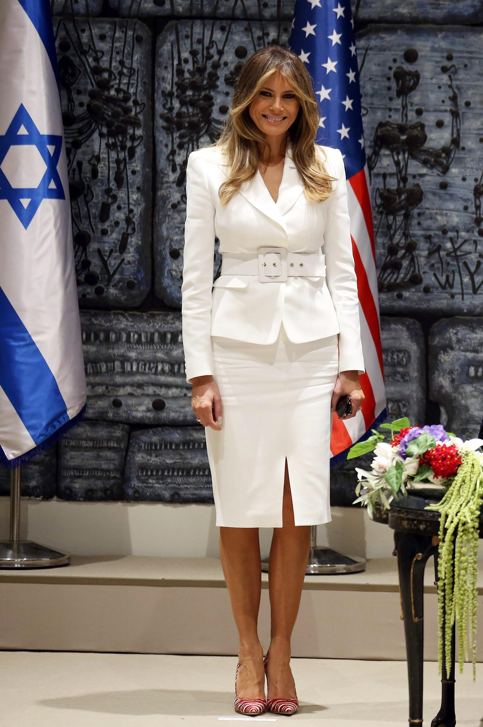da07b756ce5c Melania Trump's first lady style