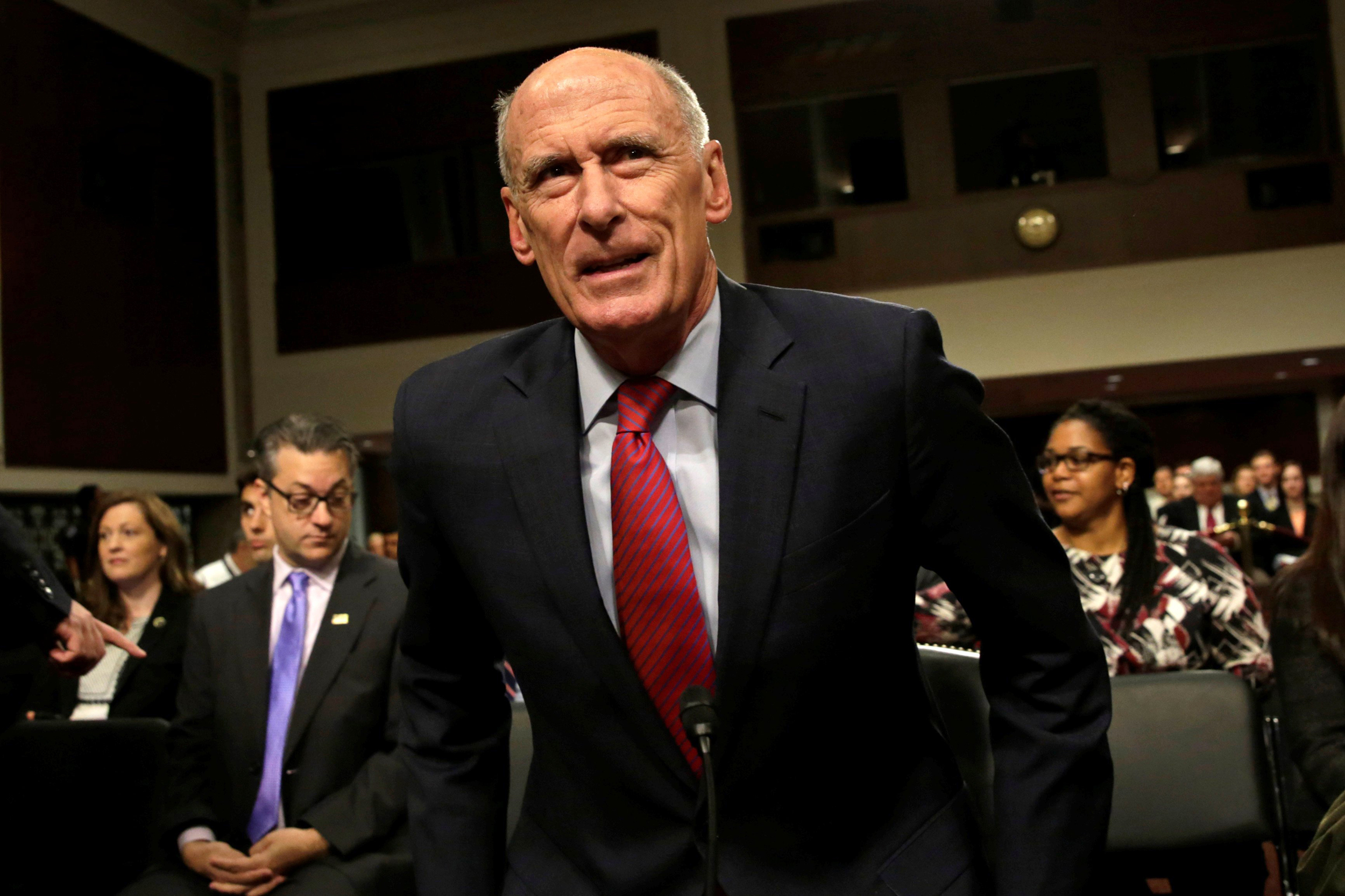 Coats to House Investigators: Trump Obsessed With Russia Probe