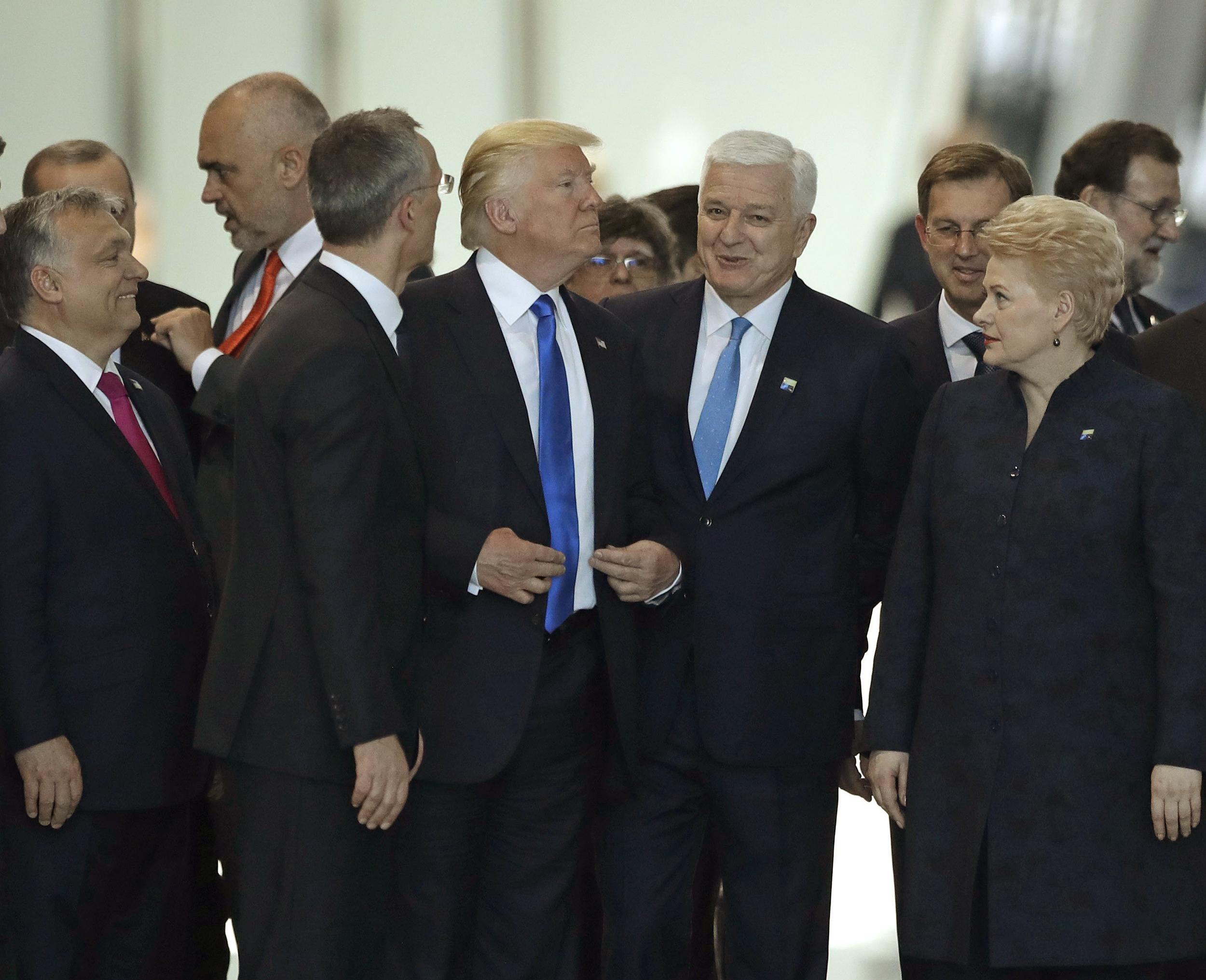 President Trump Throws His Weight Around At Nato Summit