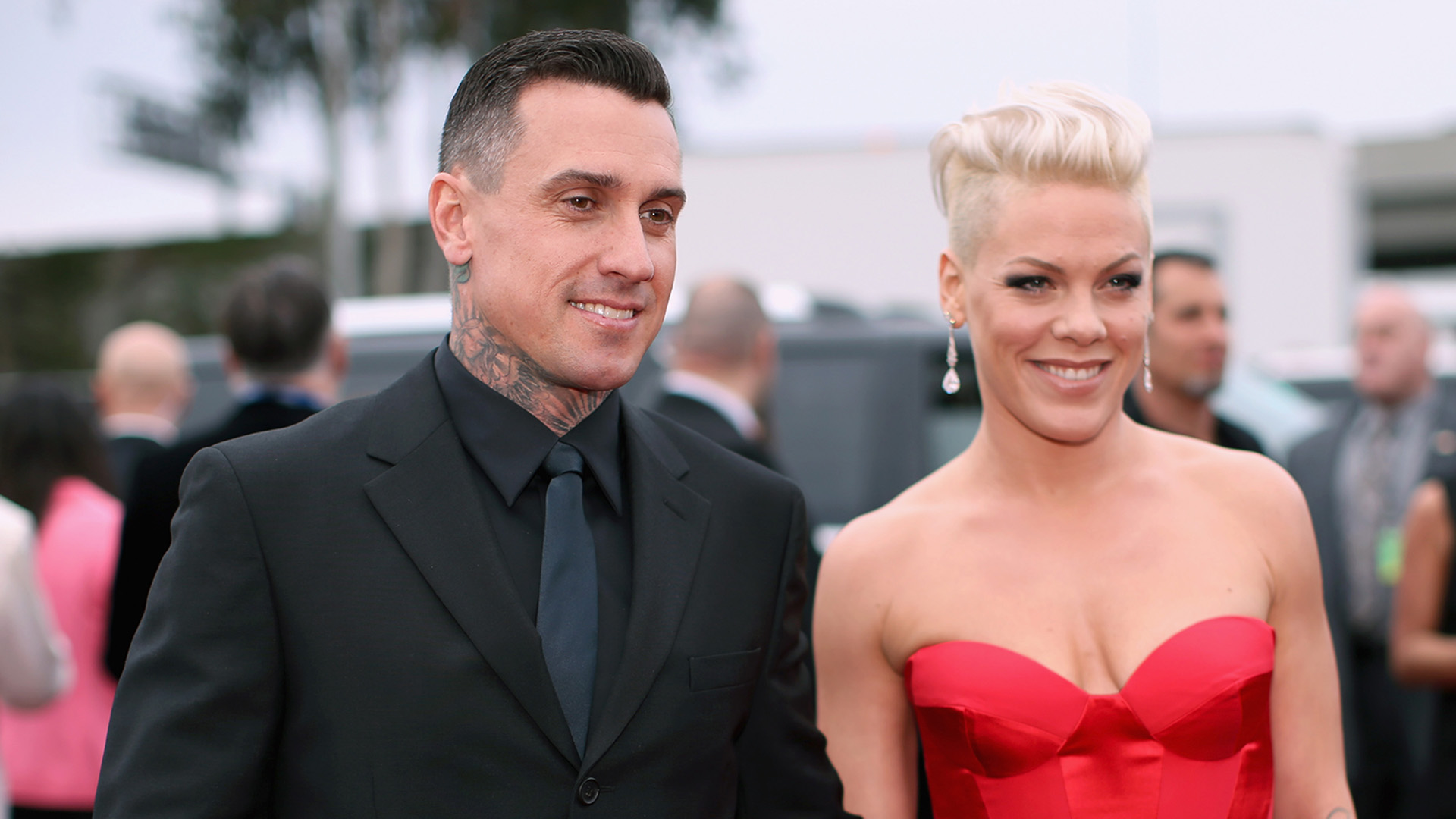 Pink and Carey Hart first began dating in 2001 after meeting at the Summer X Games and since then theyve taken their love all over the globe vacationing in