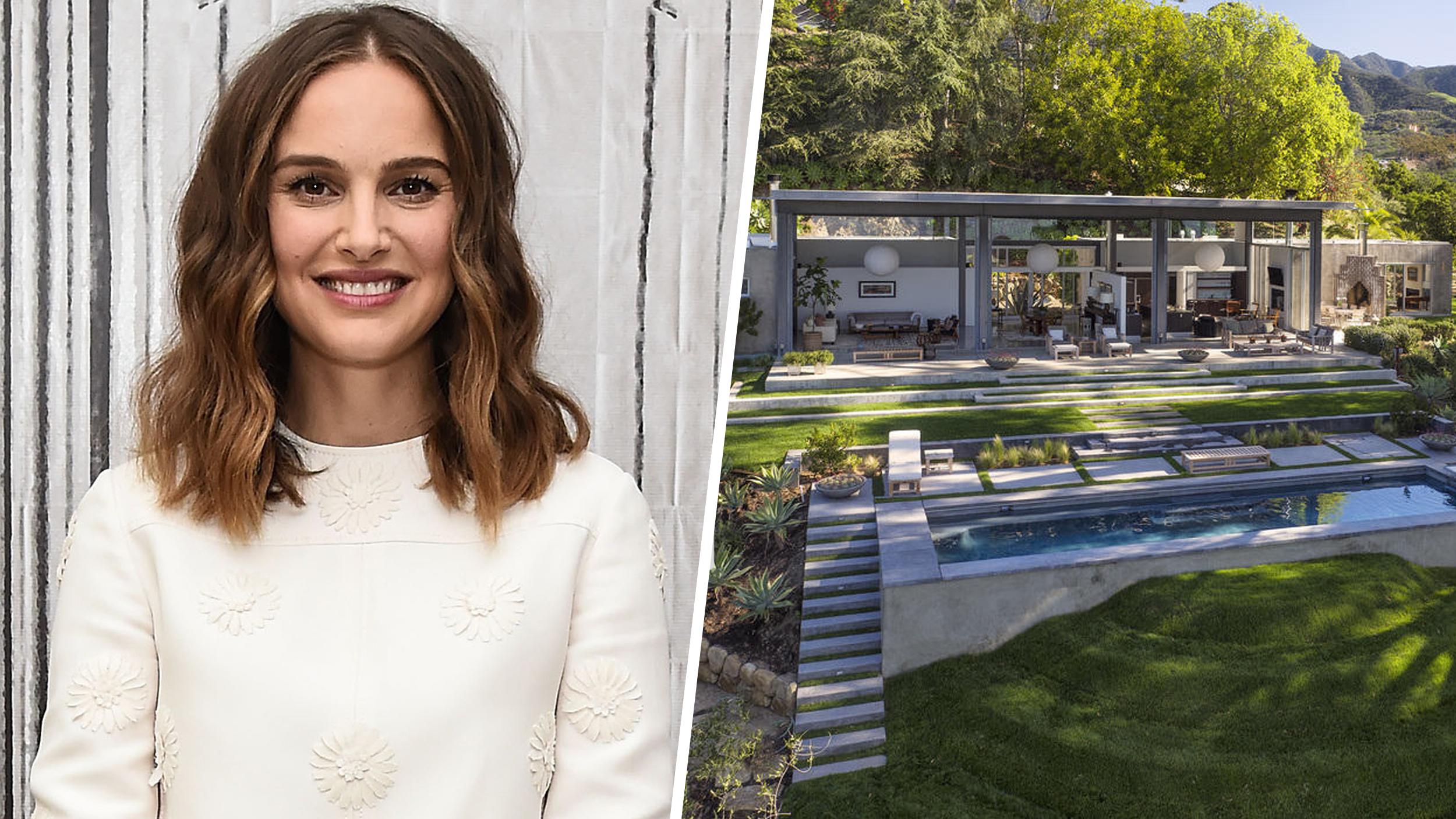 Natalie Portman's vacation home in Montecito, California ...