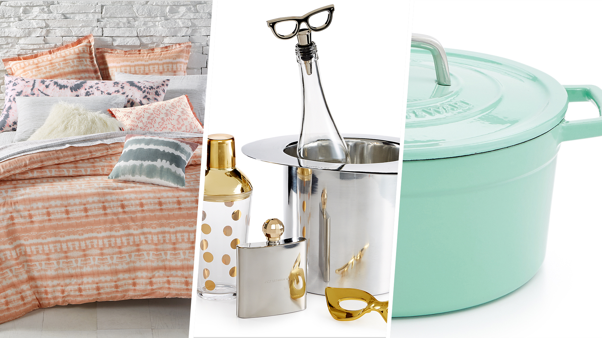 The most popular wedding registry gifts for Popular wedding registry locations