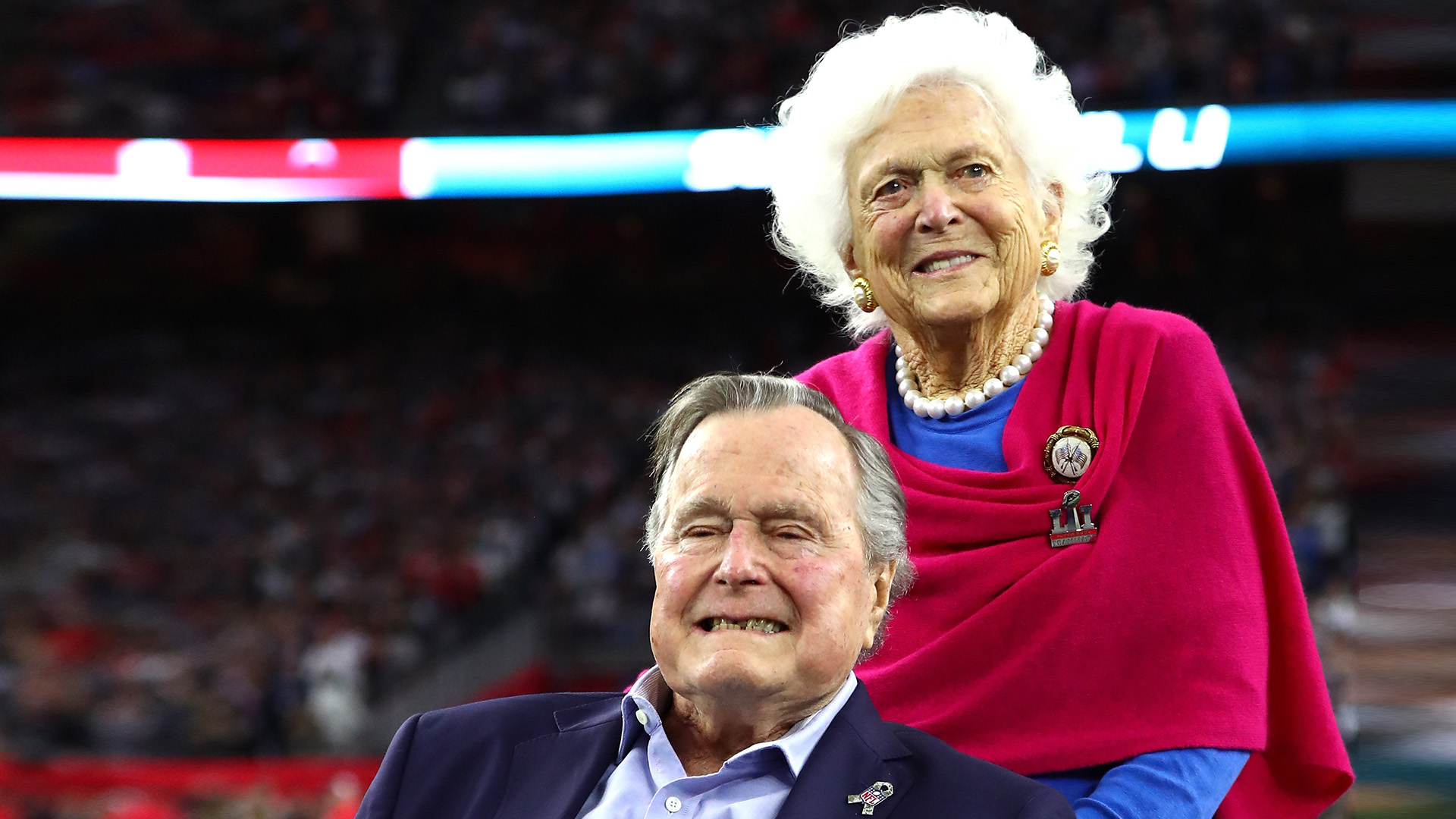 Image result for barbara and george bush