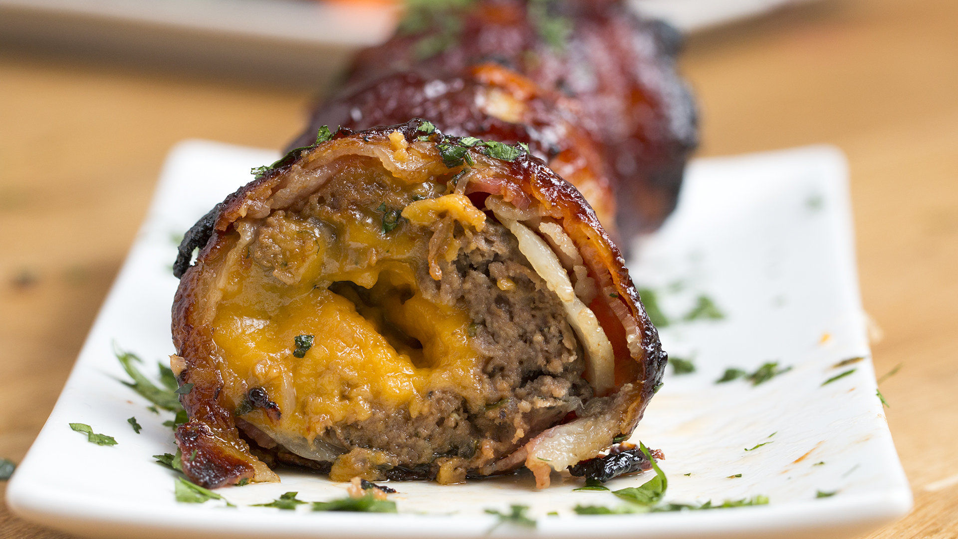 Bbq Bacon Onion Meatball Bombs Today Com