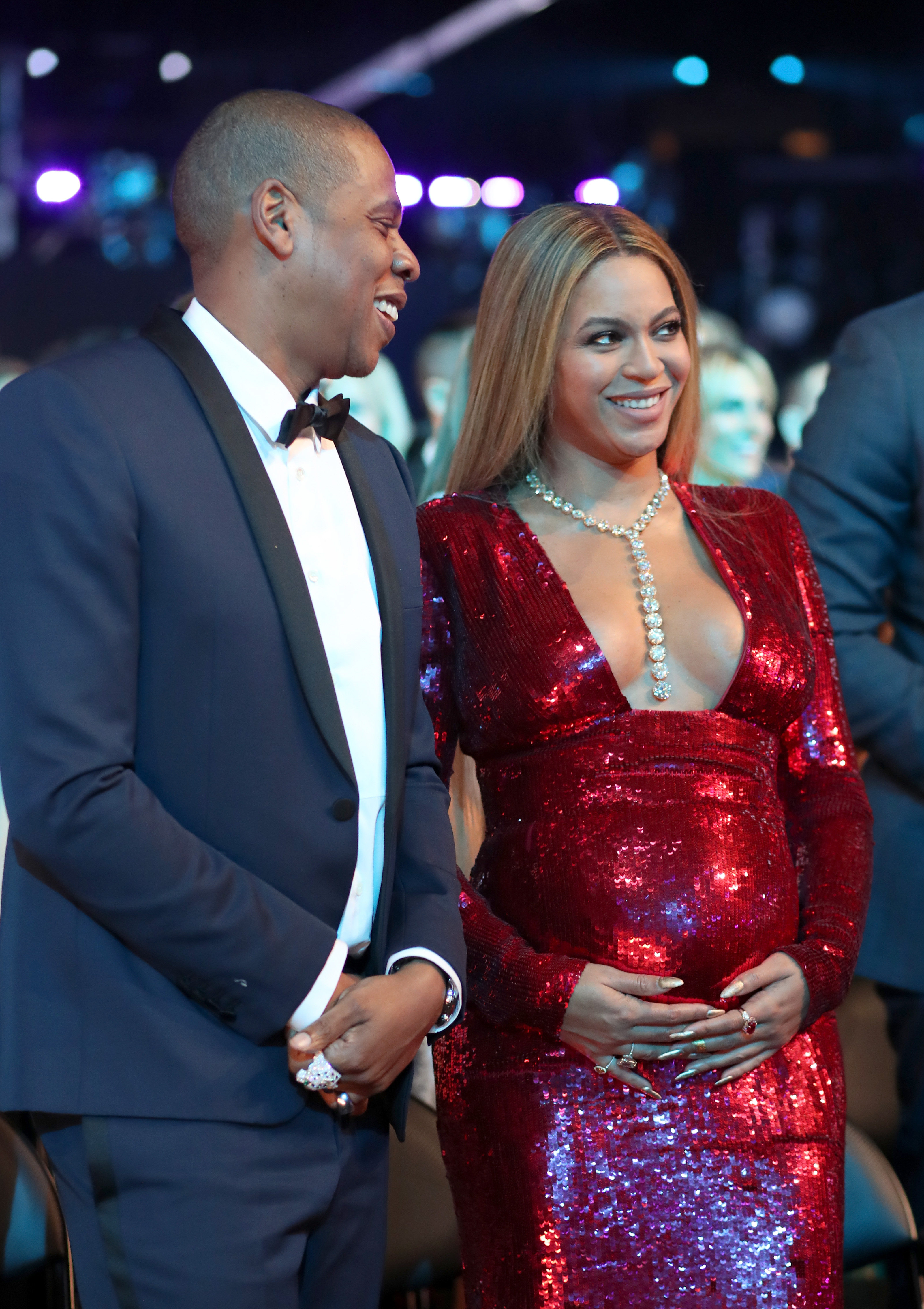 Beyonce and Jay Z Wel e Twins According to Grandpa Other Sources