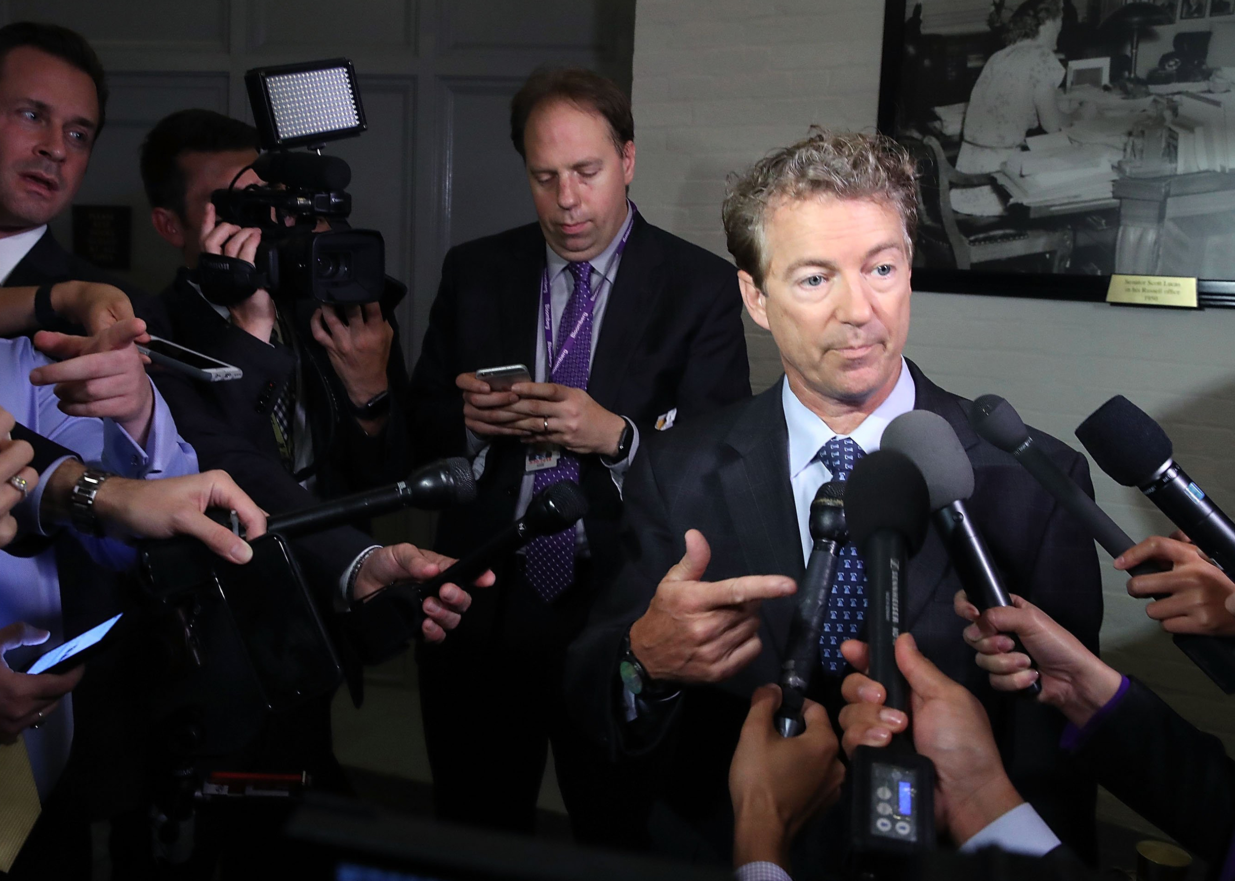 Key Senate Conservatives Won't Support GOP Health Care Bill Yet