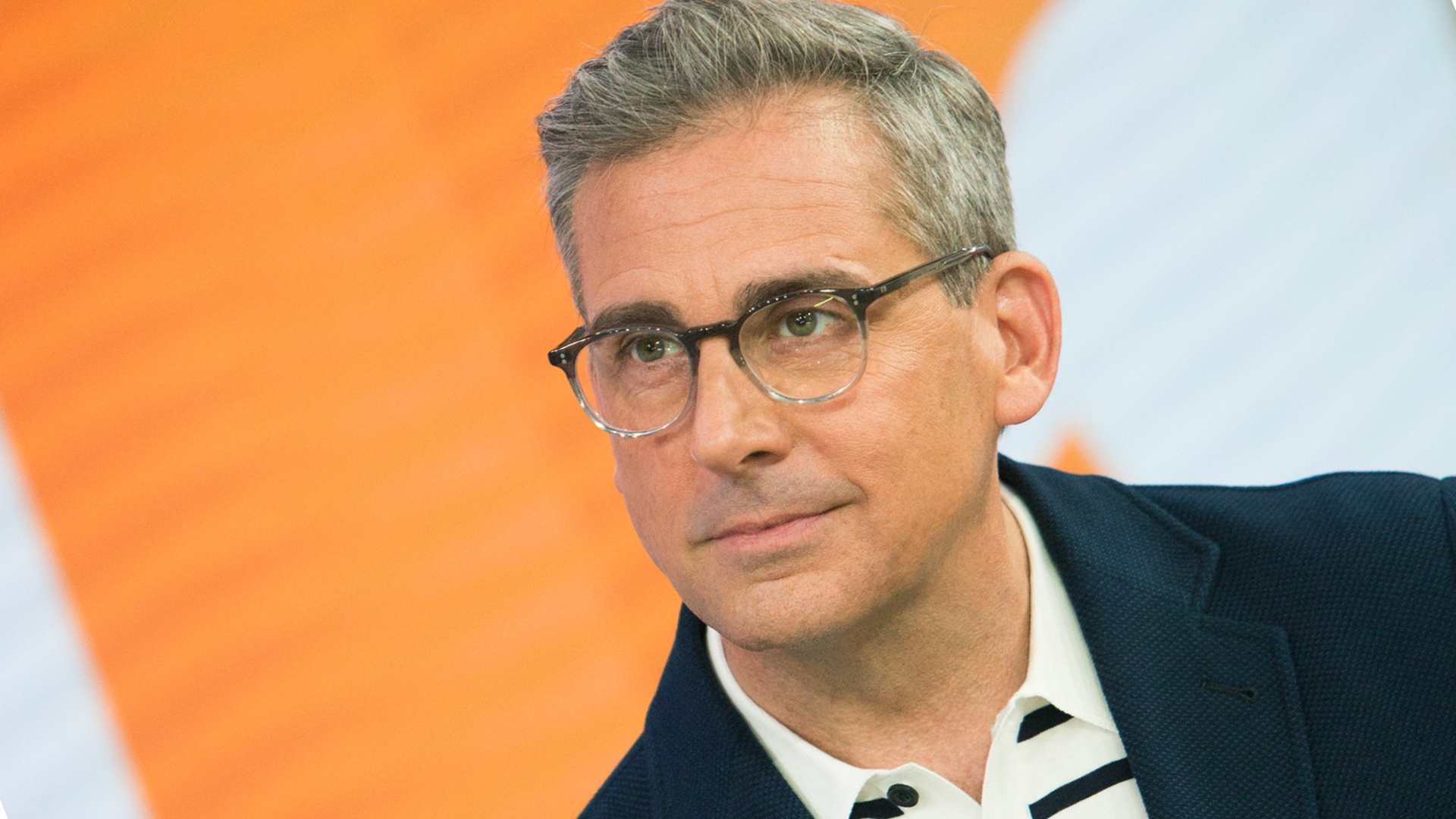 Steve Carell Responds To Silver Fox Attention On Today My Eyes Are Down Here Today Com
