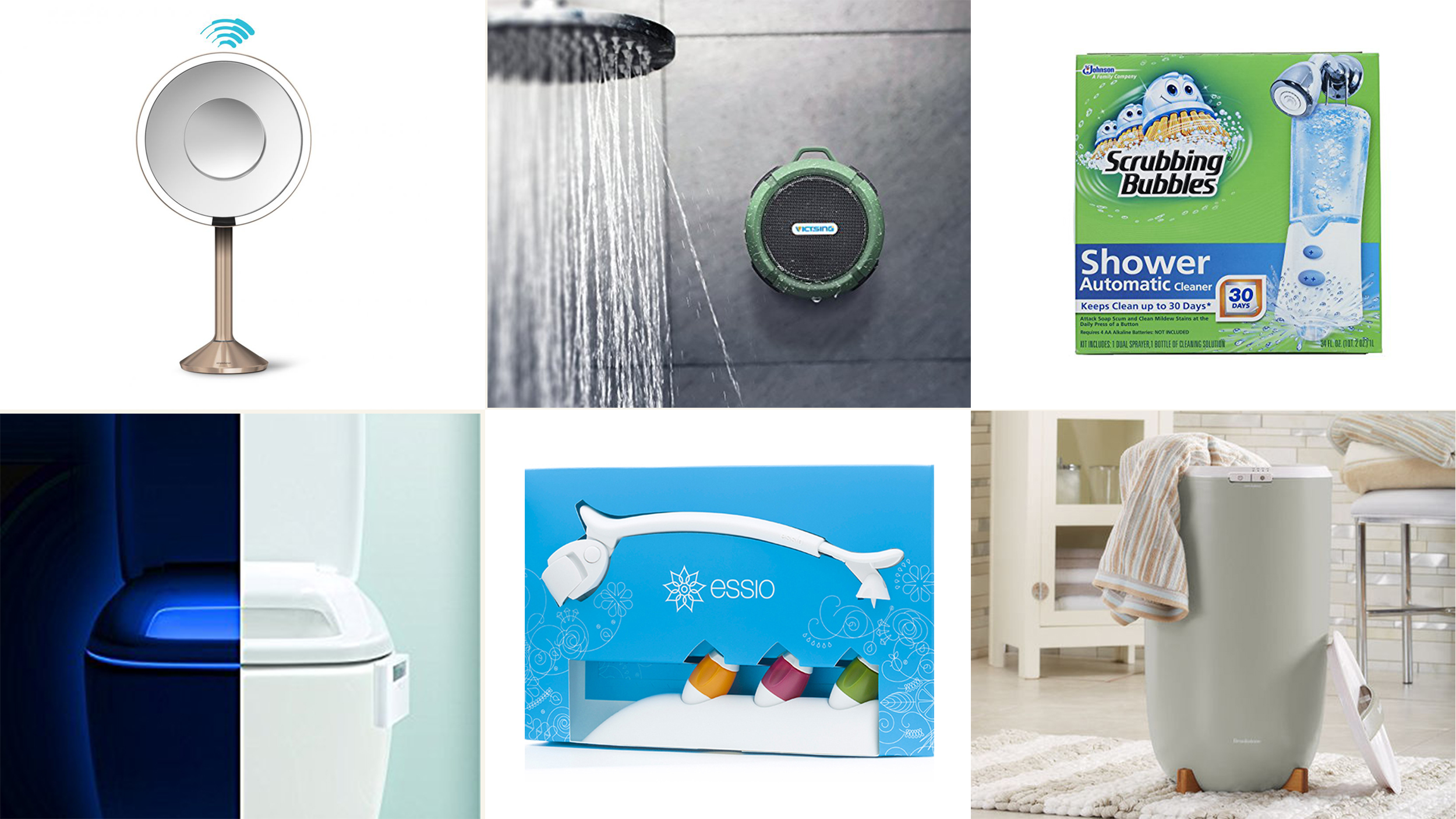 9 cool gadgets that will upgrade your bathroom drain protector toilet light - Five modern gadgets for a functional bathroom ...
