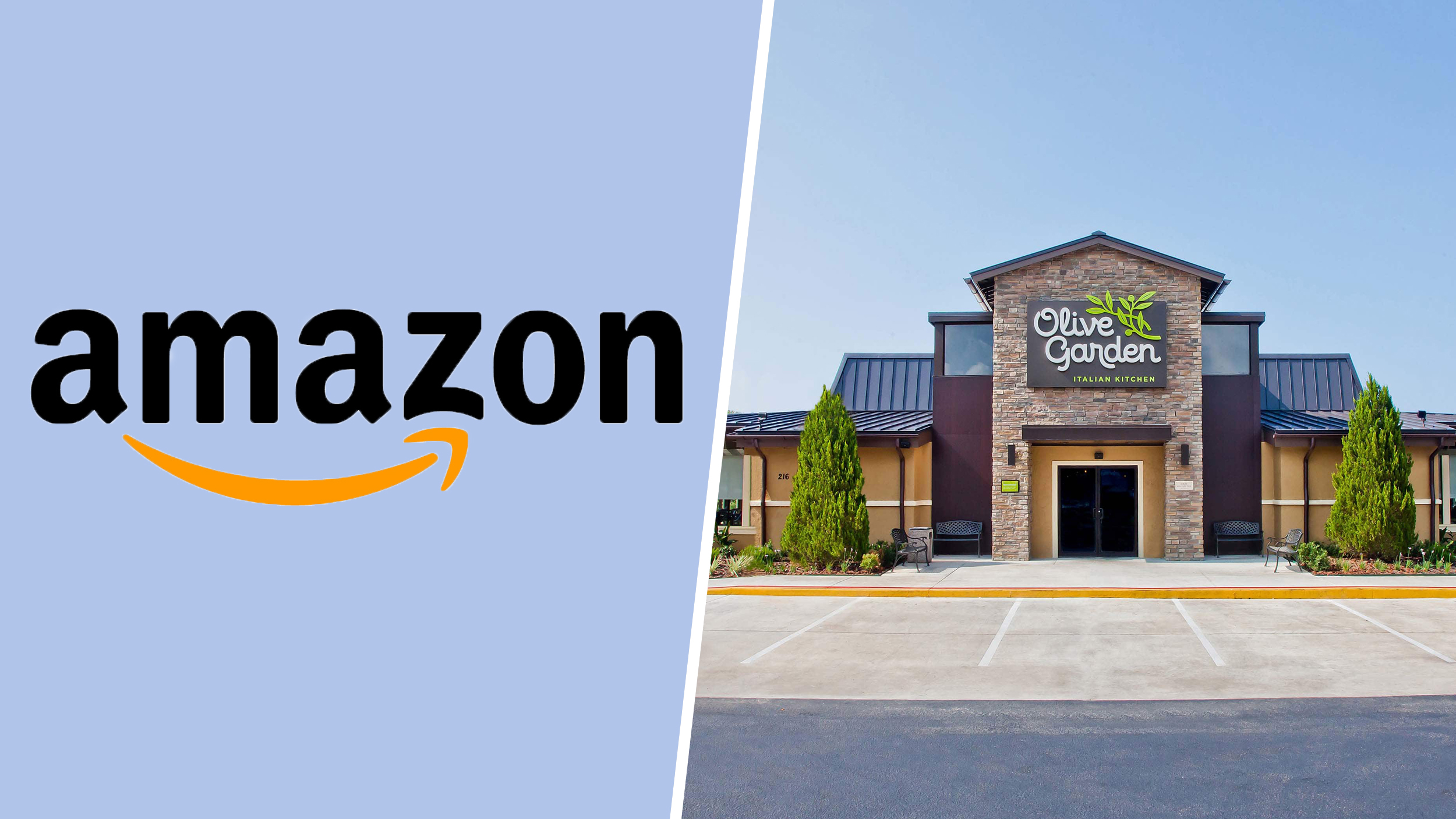 Amazon And Olive Garden Delivery Test In The Works