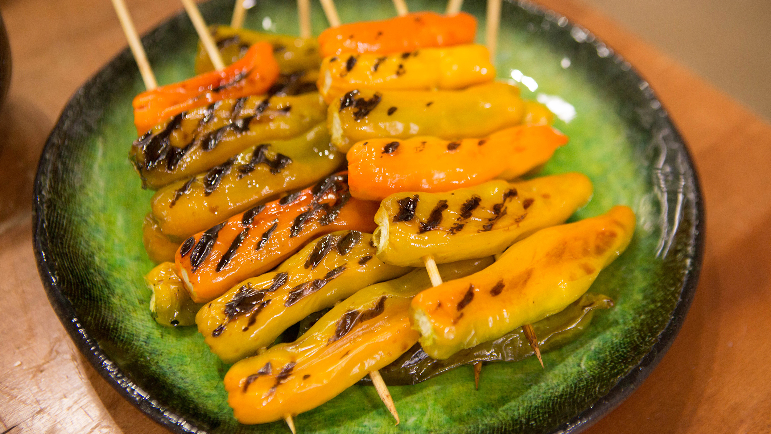 Grilled Shishito Peppers with Ponzu Sauce - TODAY.com
