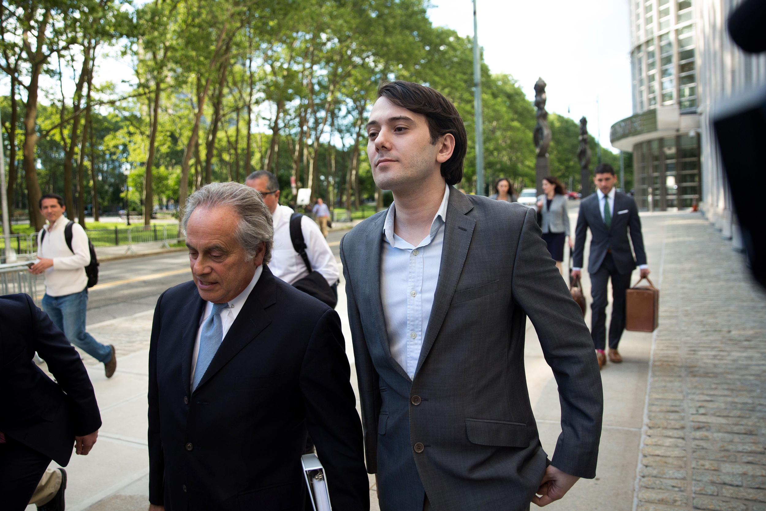 Prosecutor: Shkreli Built Hedge Fund Empire on 'Lies Upon Lies'