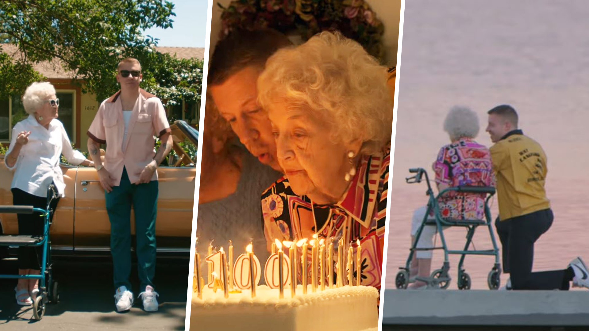 Macklemore's grandma turned 100, so he made her the star of her own music video - TODAY.com
