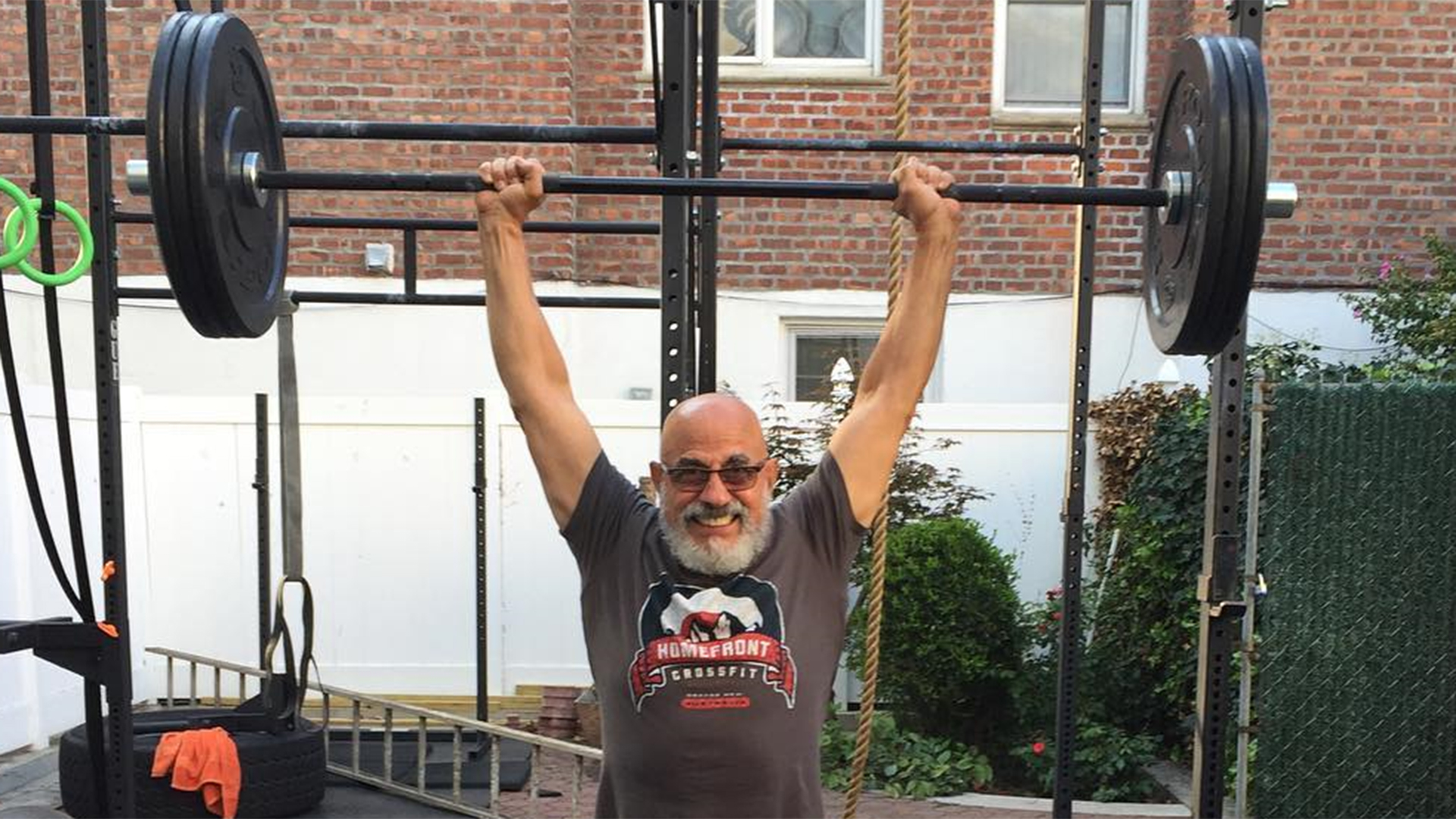 CrossFit: Meet the 78-year-old grandfather who is still