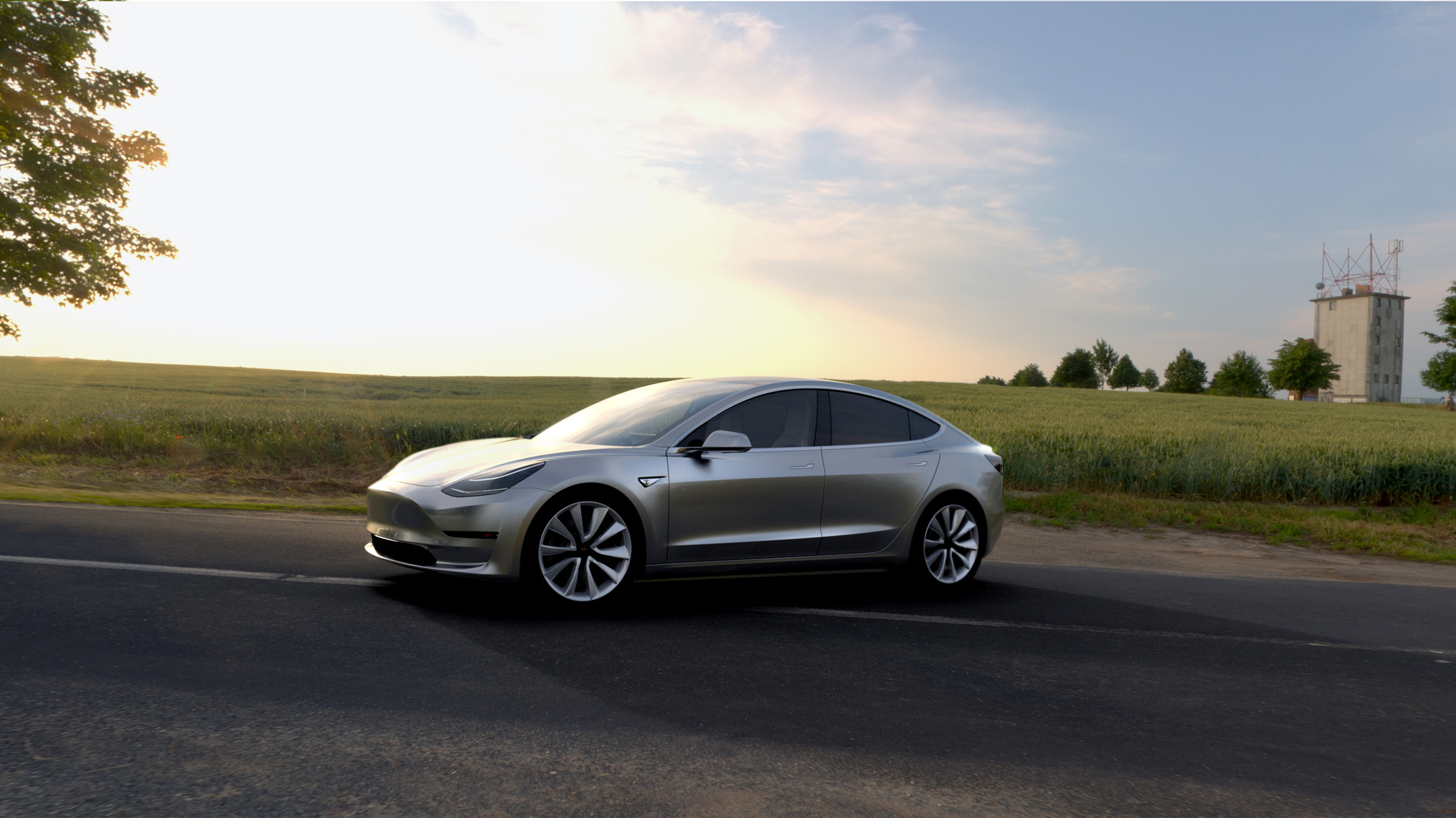 The Very First Tesla Model 3 Just Rolled Off the Line. So Who Gets It?