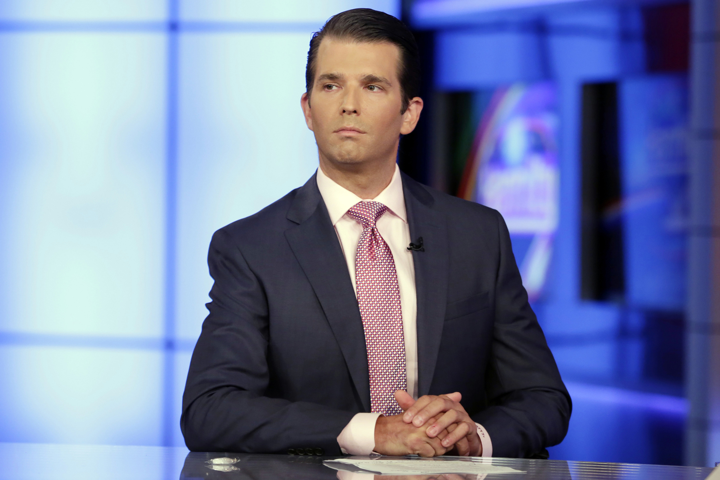 Image: Donald Trump Jr. is interviewed by host Sean Hannity