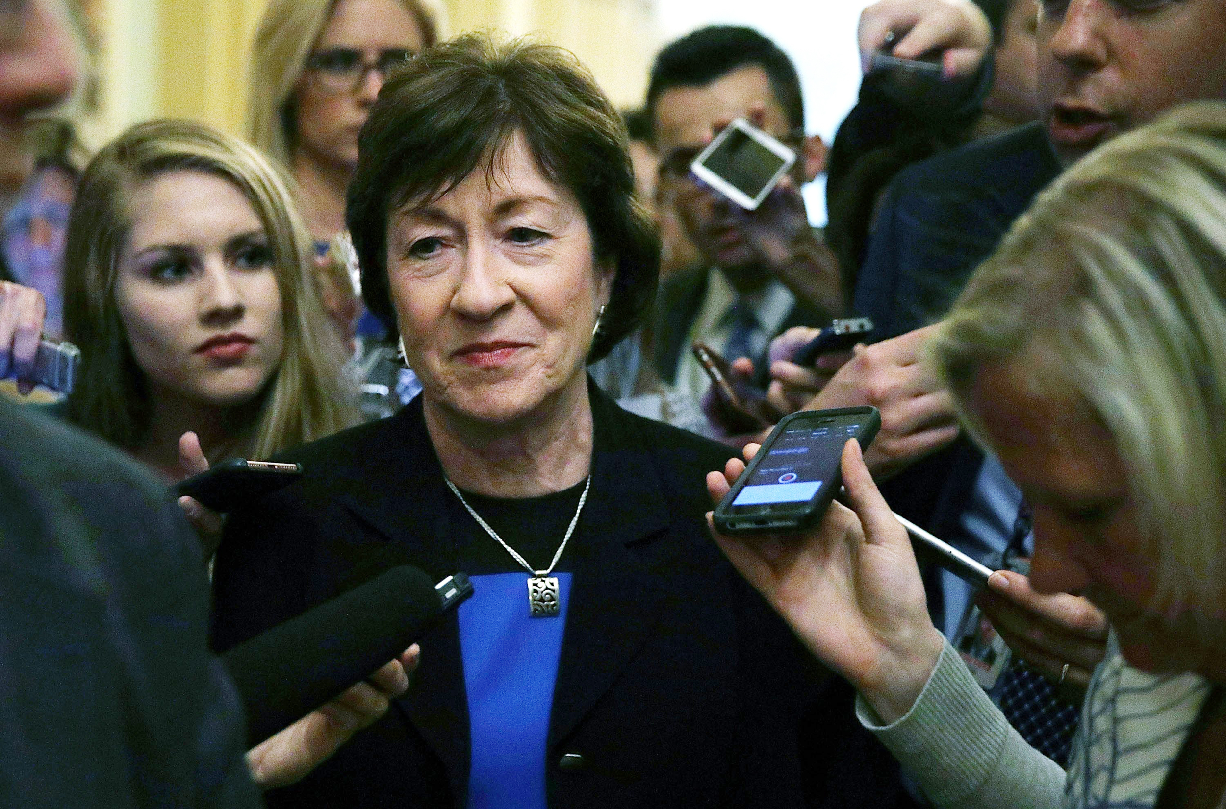 Sen. Collins Deals Potential Lethal Blow to GOP Health Care Bill