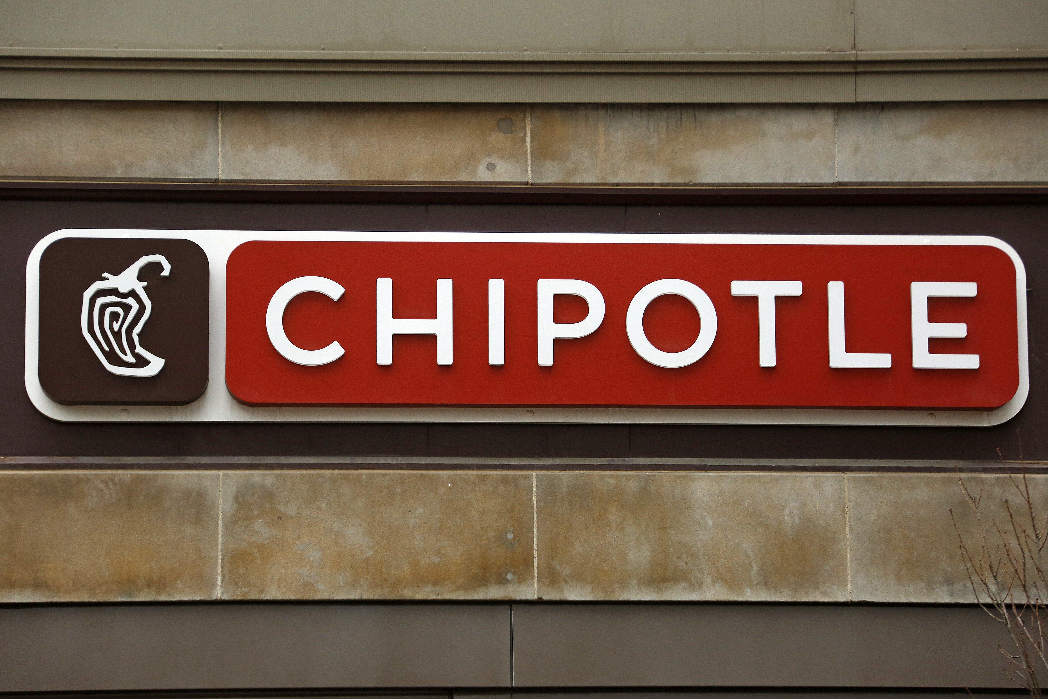 Image: Chipotle restaurant sign