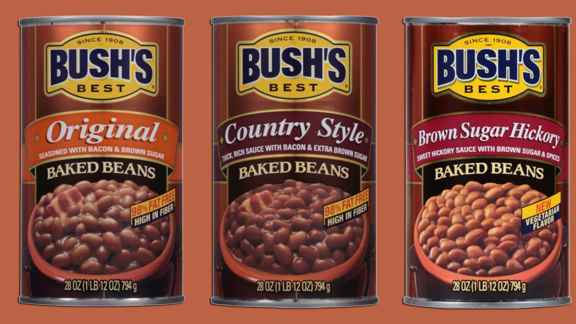 Types Of Canned Food