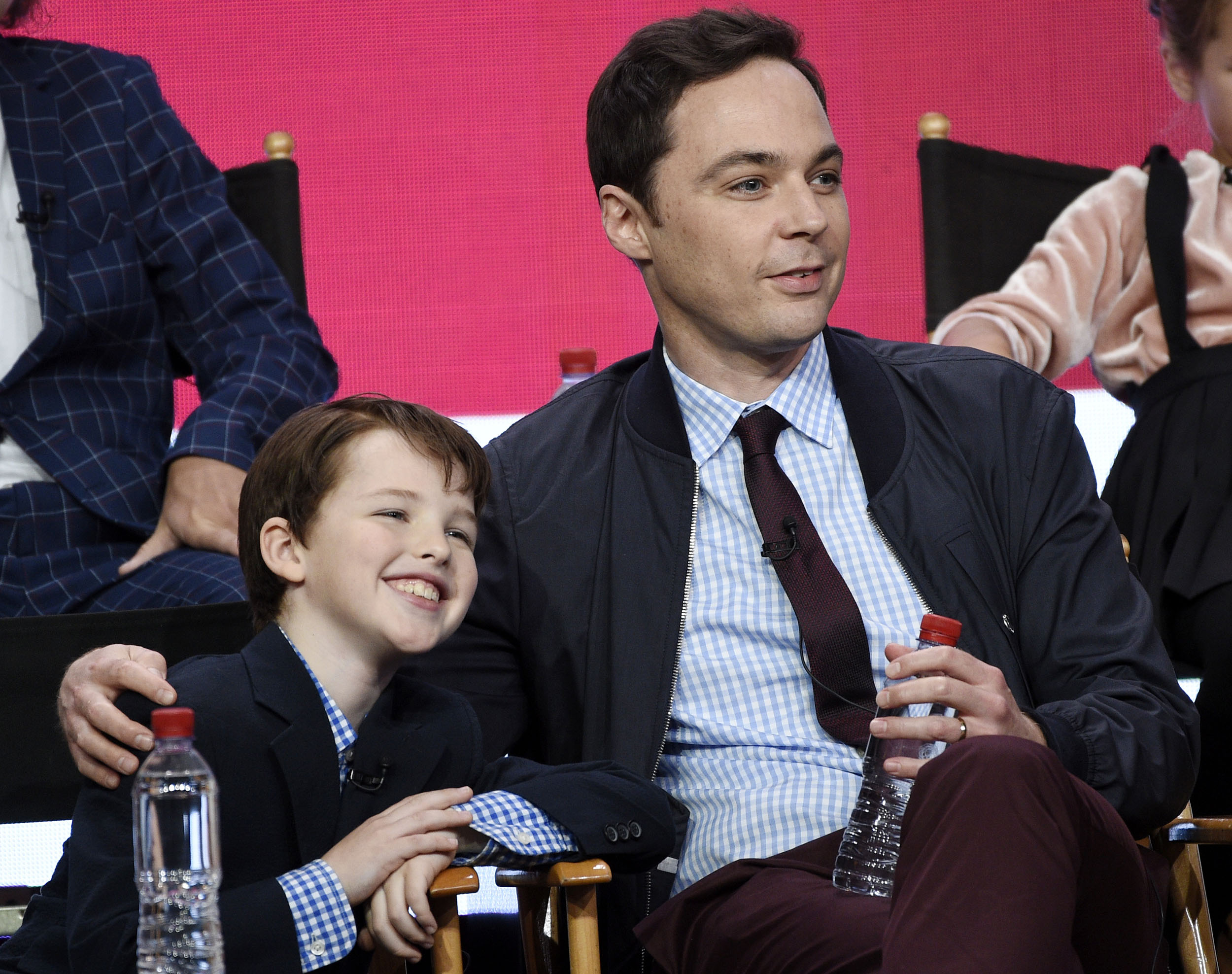 Jim Parsons gushes ove...