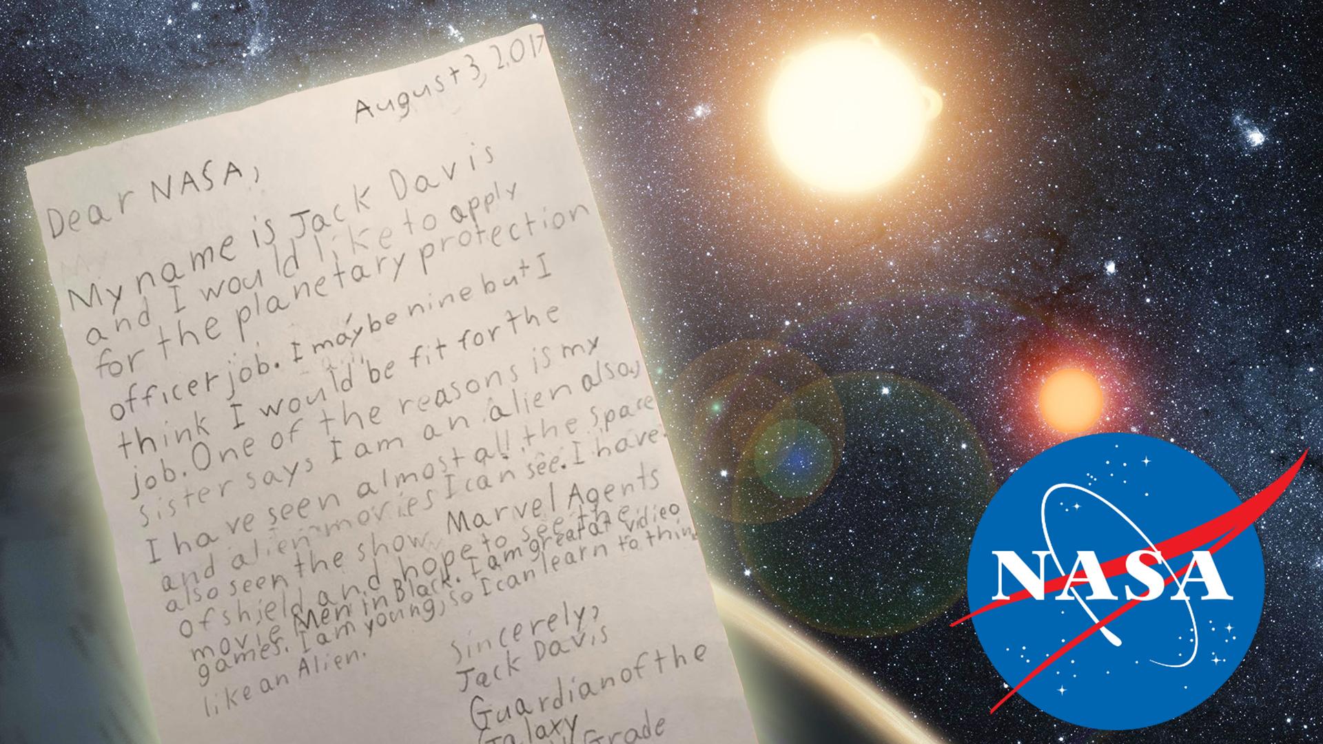 9 year old guardian of the galaxy wants a job at nasa todaycom - Astronomy Jobs At Nasa