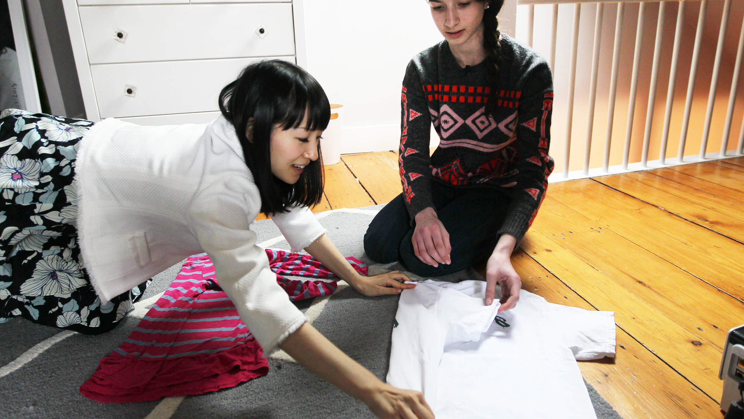 Marie Kondo Is Teaching Life Changing Method To Her