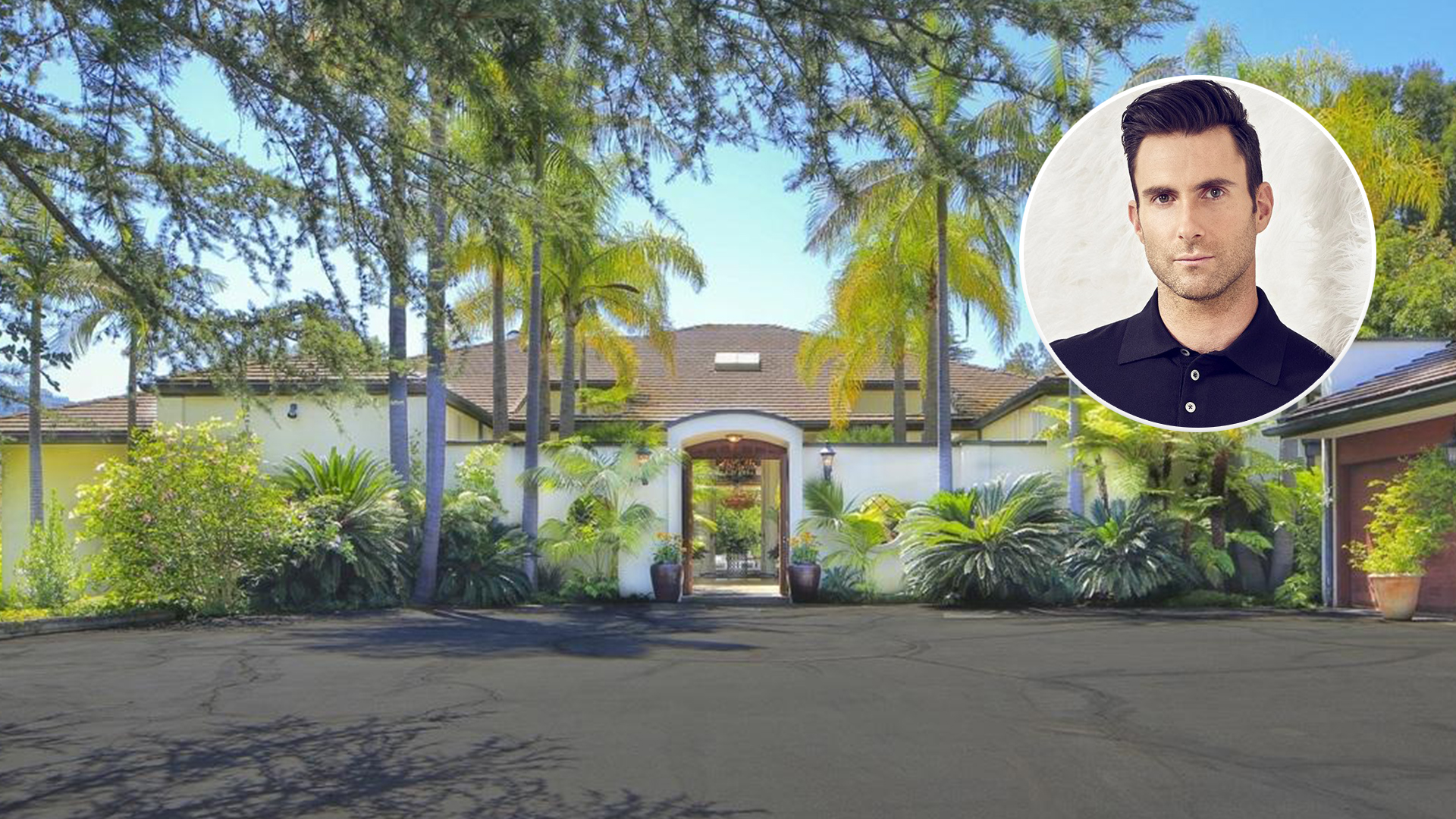 Adam Levine S New Los Angeles Home See Inside Today Com