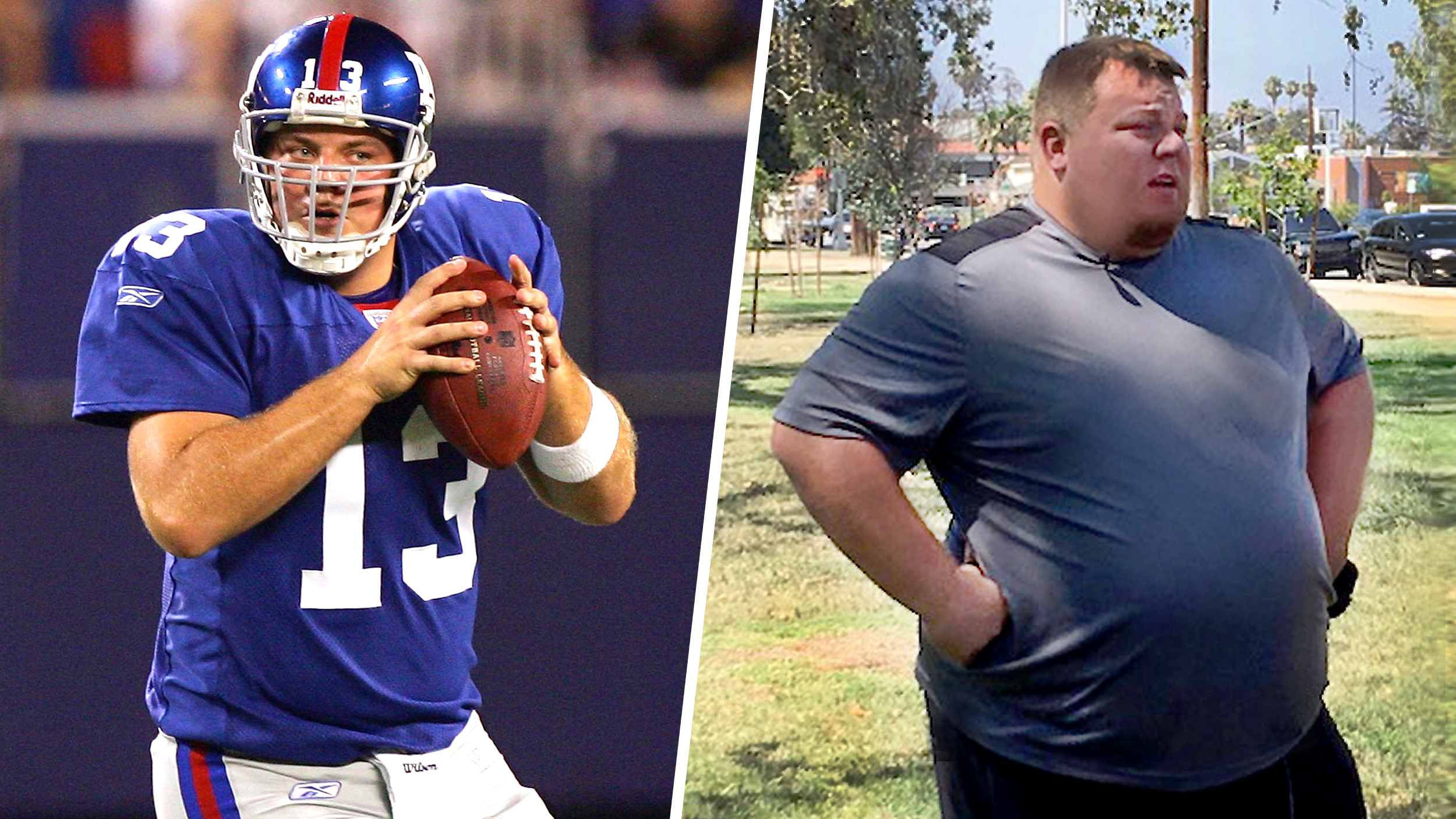 Now 500 pounds, former Giants QB Jared Lorenzen goes to battle