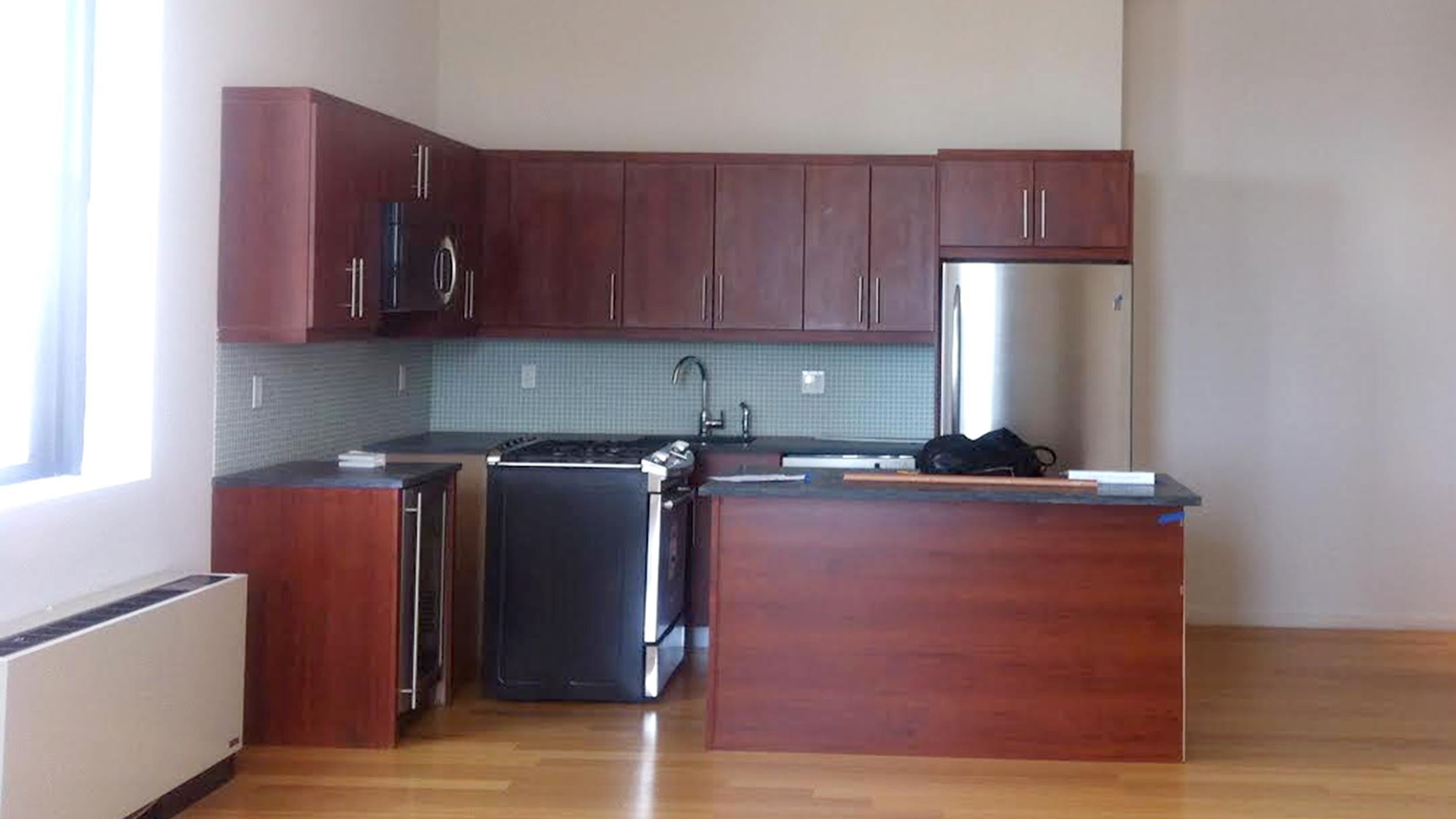 Apartment makeover: Kitchen and hallway Interior Ideas