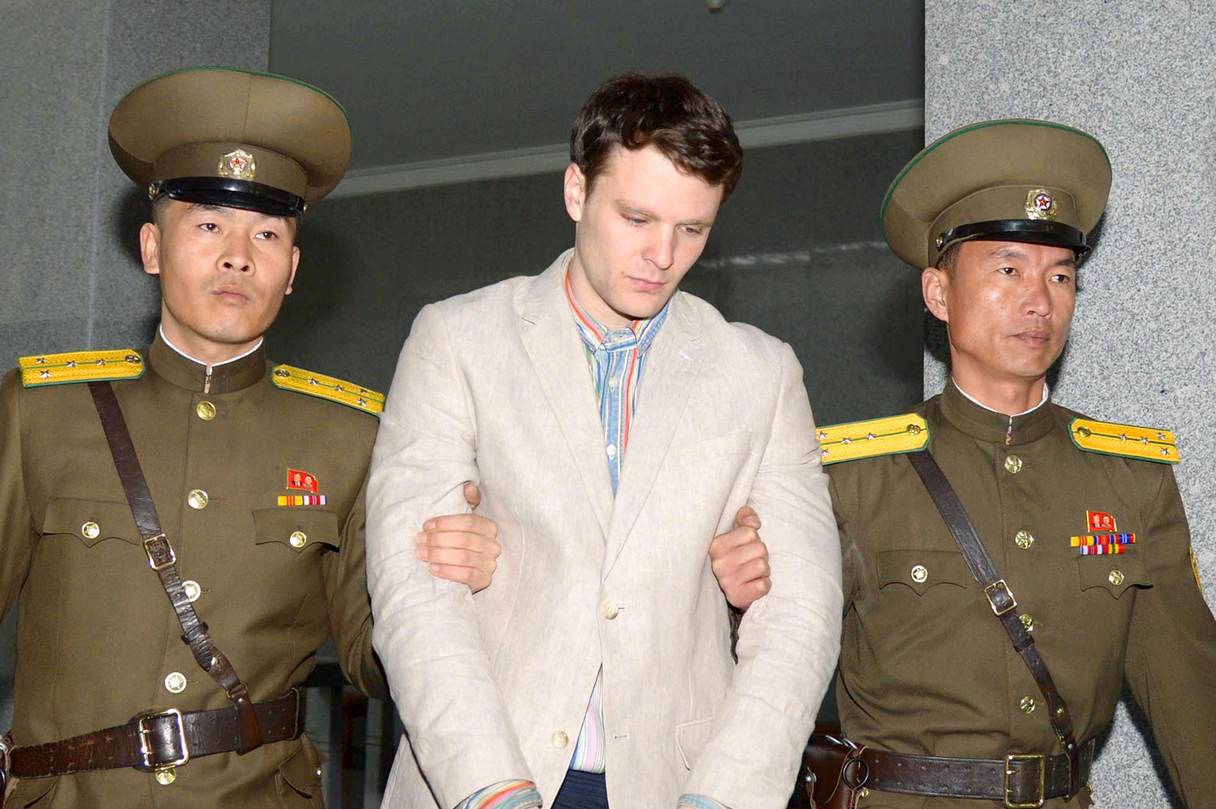 Three Americans freed from North Korea back in U.S.