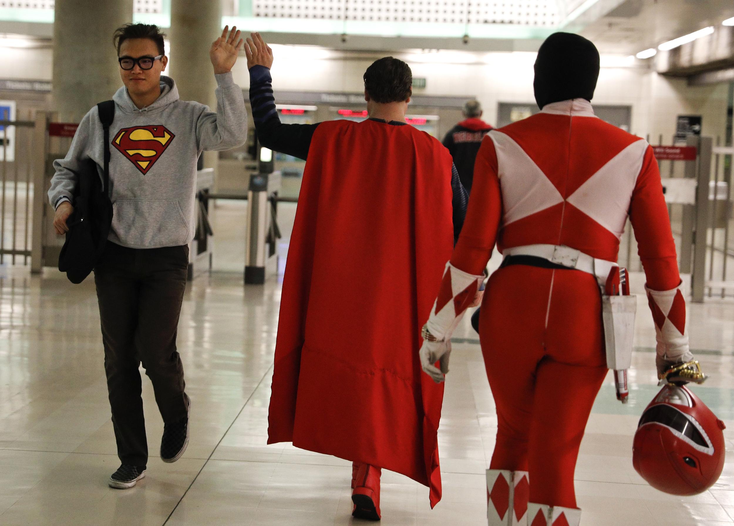 sc 1 st  NBC News & Superhero Costumes Keep Dreams Alive for Hollywood Hopefuls
