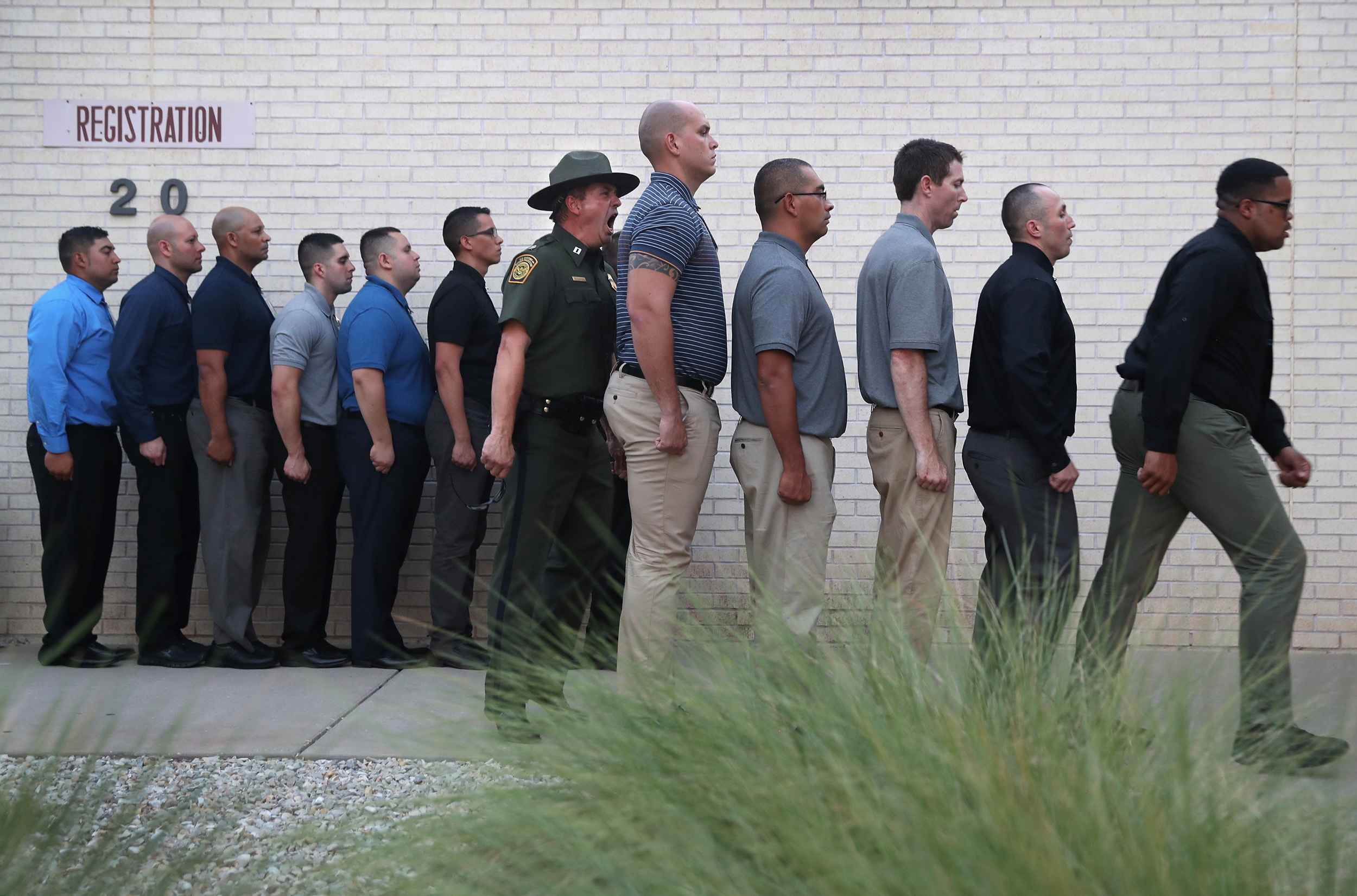 Border Patrol Recruits Put to the Test at Boot Camp